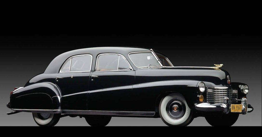 "The 1941 Cadillac owned by the Duke and Duchess of Windsor. Dubbed ""The Duchess."" The limousine was custom designed by General Motors for the former king of England and his American wife."