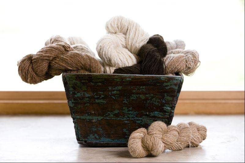 The ClothRoads Trunk Show Nov. 1-2 will feature Peruvian handspun alpaca yarn.