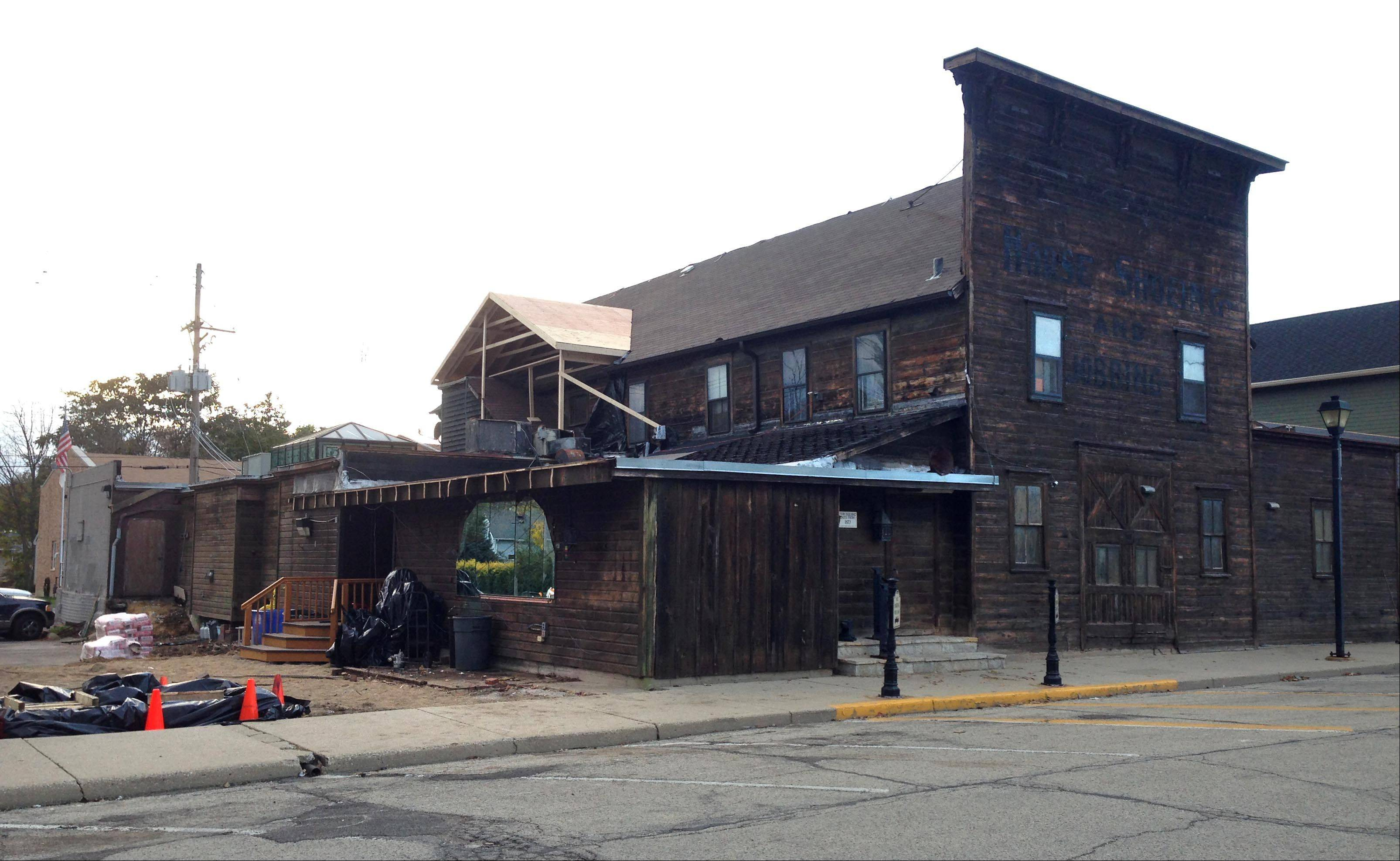 Renovations to the exterior of the Anvil Club in East Dundee started this week, thanks to a facade grant from the village. Tom Roeser, president and chief executive officer of Otto Engineering, and a member of the Anvil Club, said Thursday he is trying to buy the club.