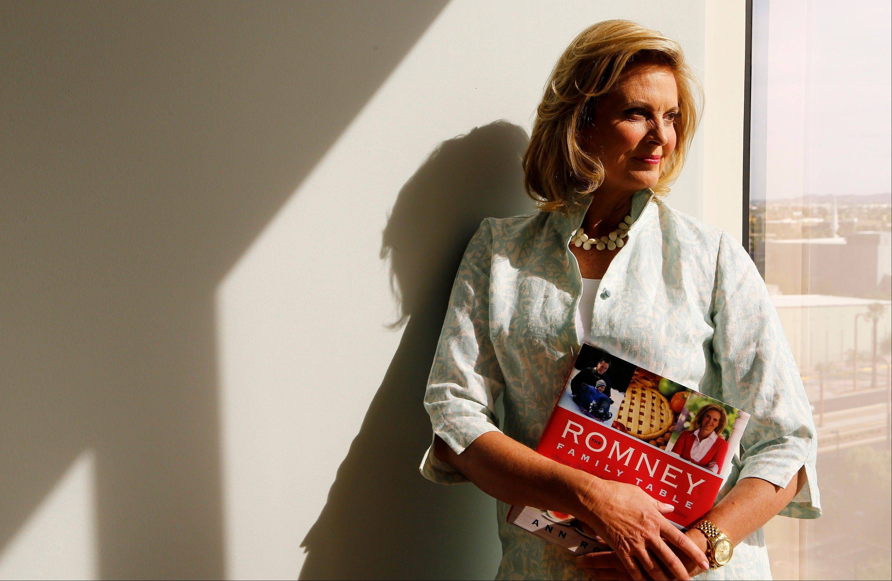 "Ann Romney says her new cookbook, ""The Romney Family Table: Sharing Home-Cooked Recipes & Favorite Traditions,"" is about more than just recipes."