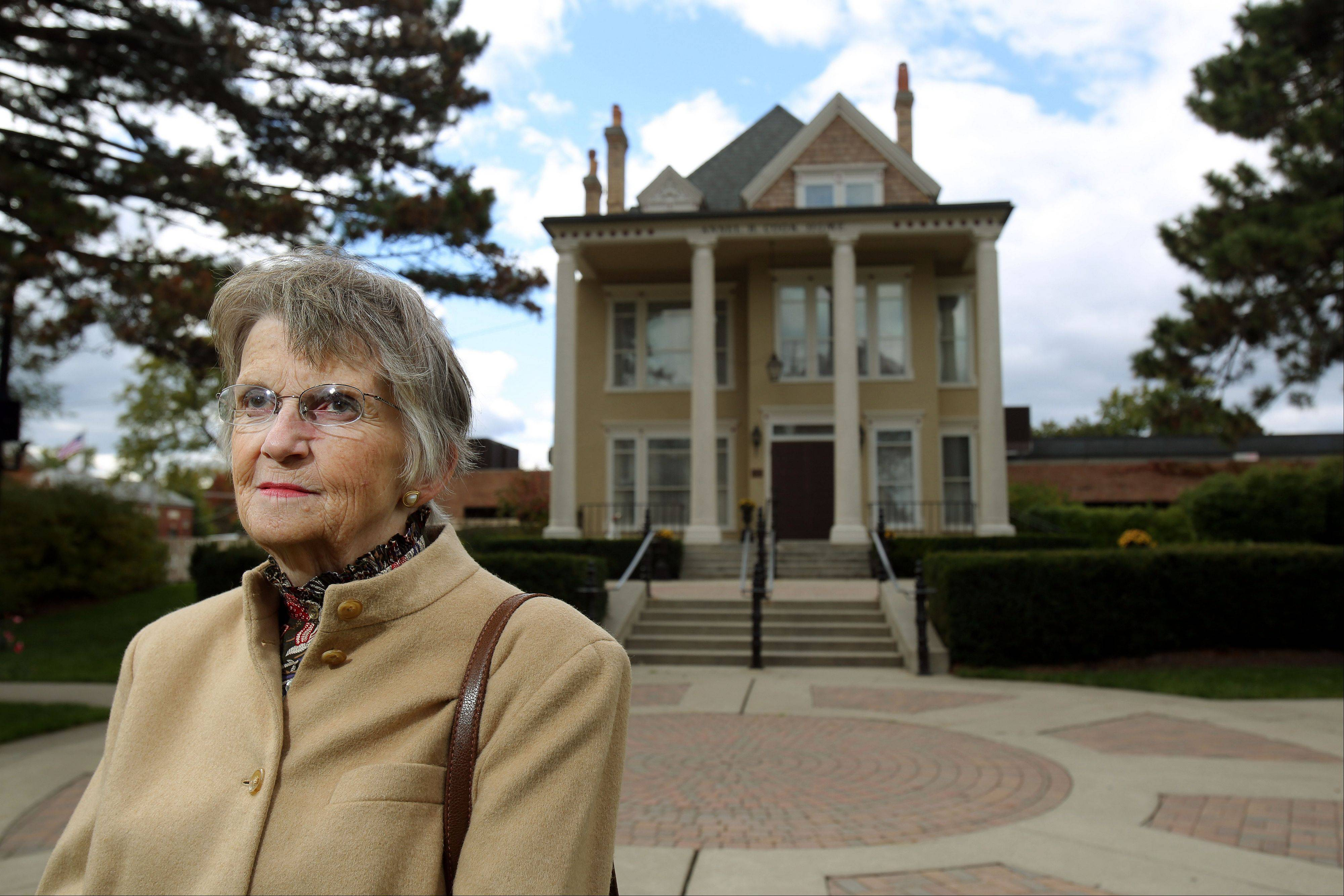 Phyllis Eggert of Libertyville remembers Sen. John F. Kennedy's visit to Libertyville in October 1960.