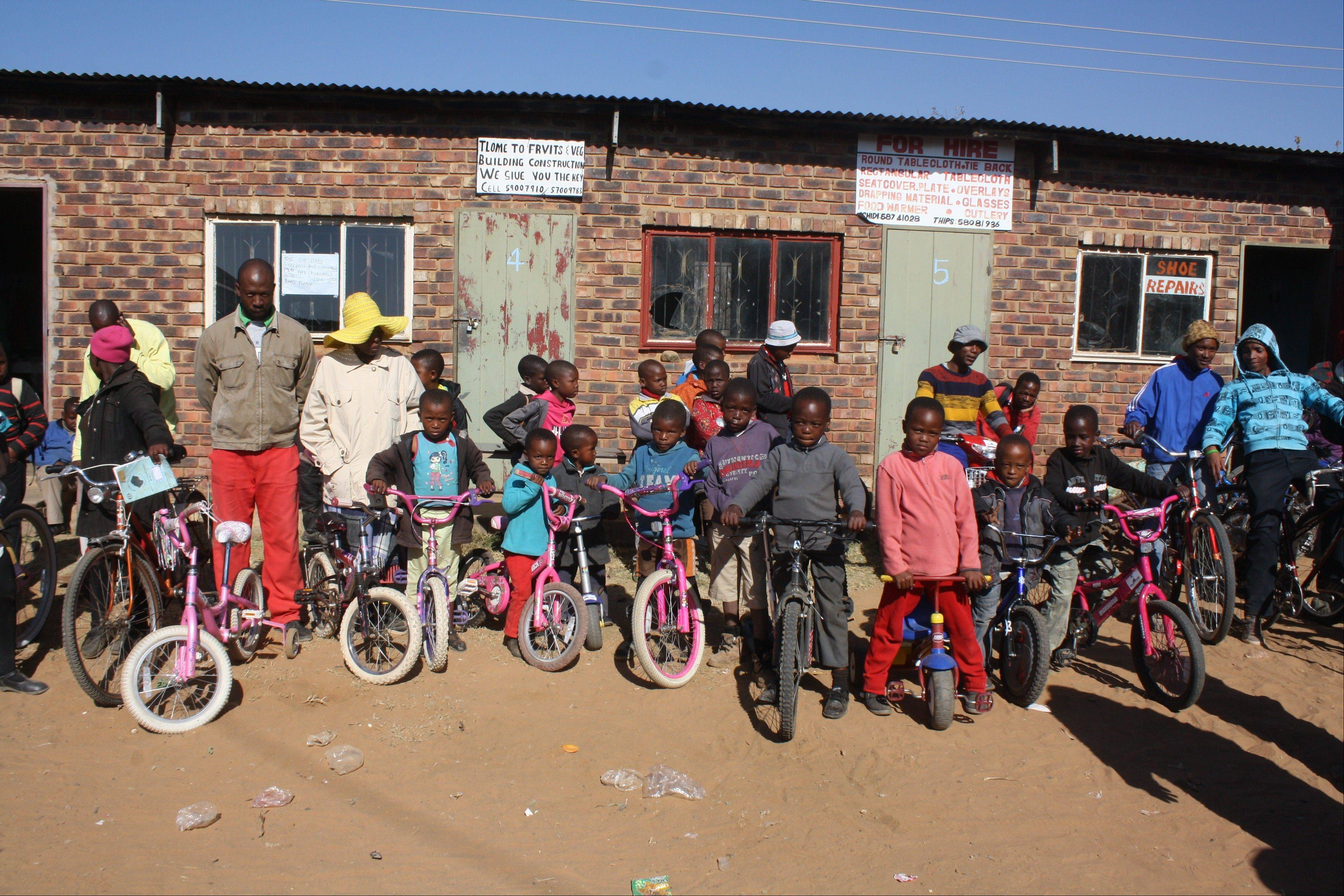 Bikes for Lesotho aims to send used, working bikes to the underprivileged kids in Lesotho, especially the 100,000 orphaned primarily by AIDS/HIV.