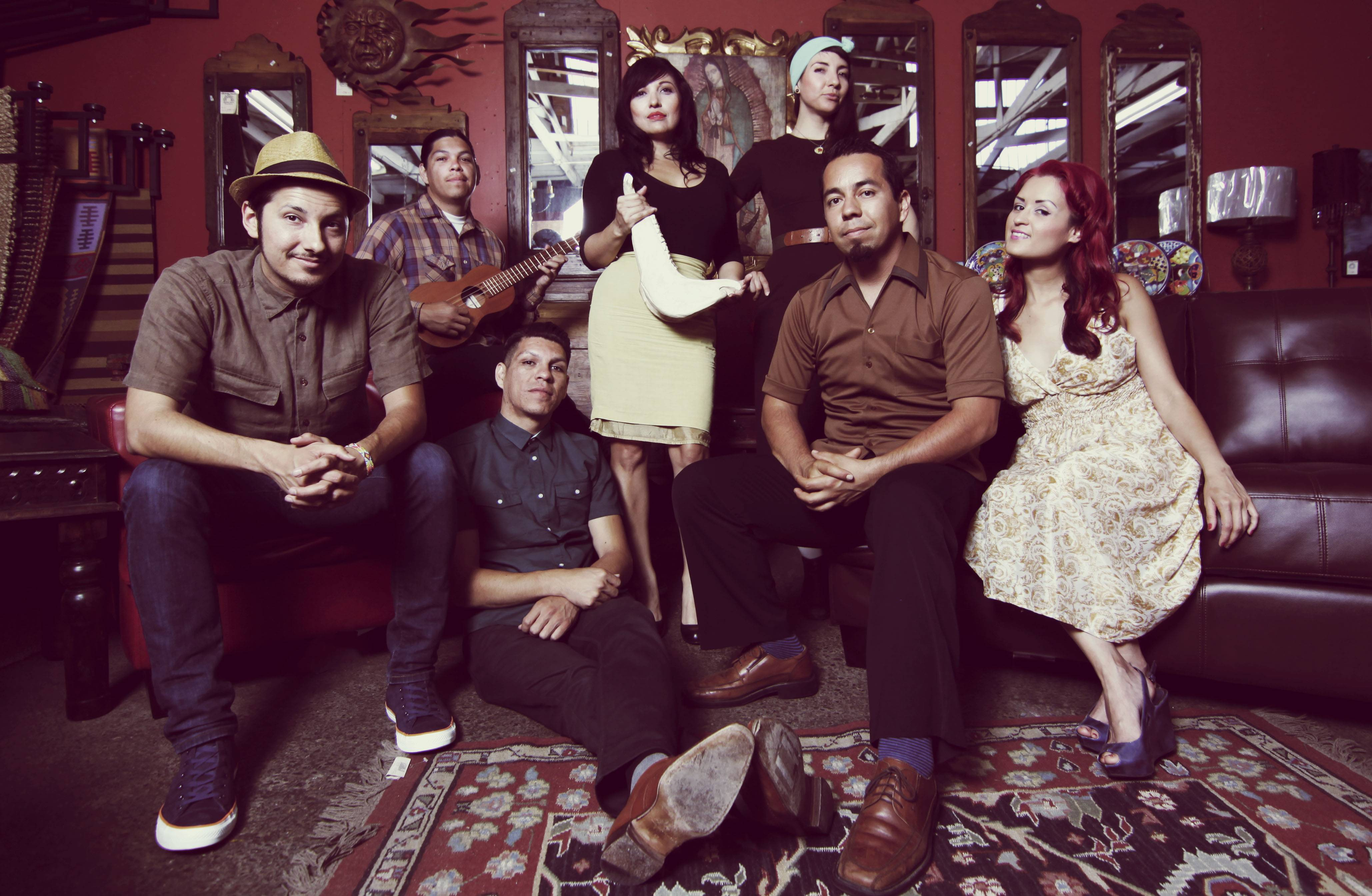 Las Cafeteras, a group of musicians from East Los Angeles, will perform and then conduct an interactive workshop on racism on Tuesday, Nov. 5.