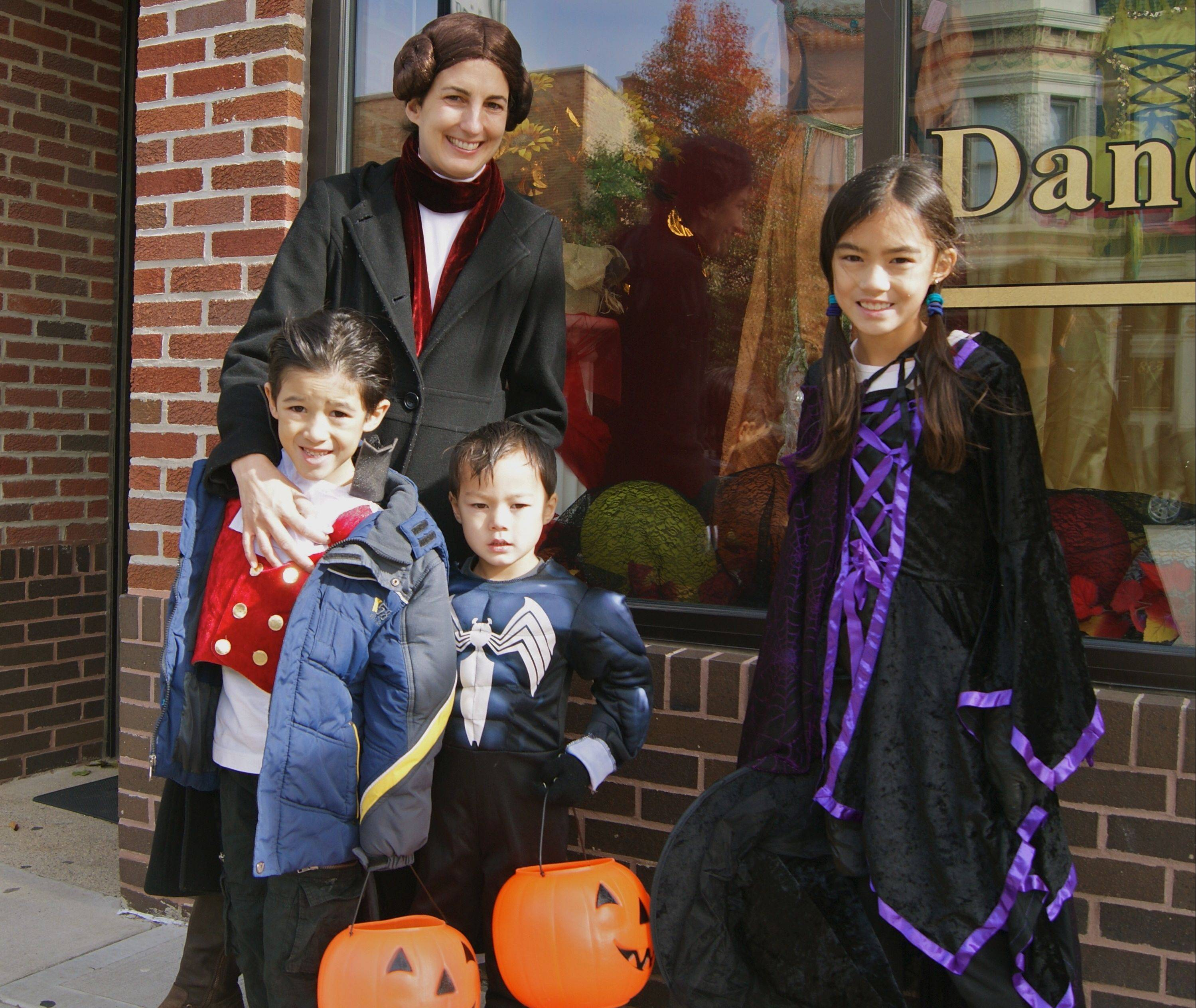 Trick-or-treaters are invited to downtown Libertyville from 11 a.m. to 3 p.m. on Halloween.