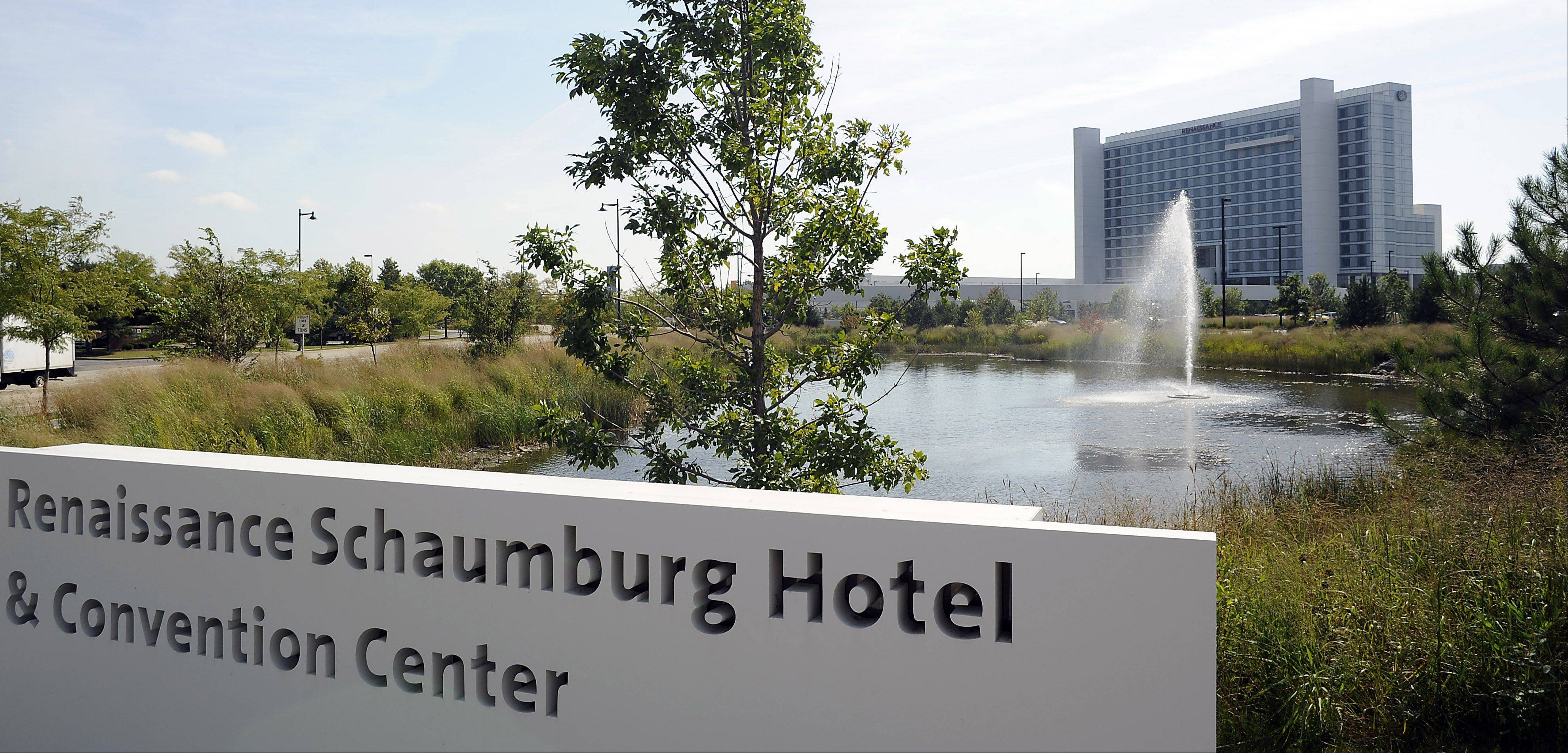 Schaumburg envisions the Renaissance Hotel and Convention Center as the centerpiece of a new suburban entertainment district.