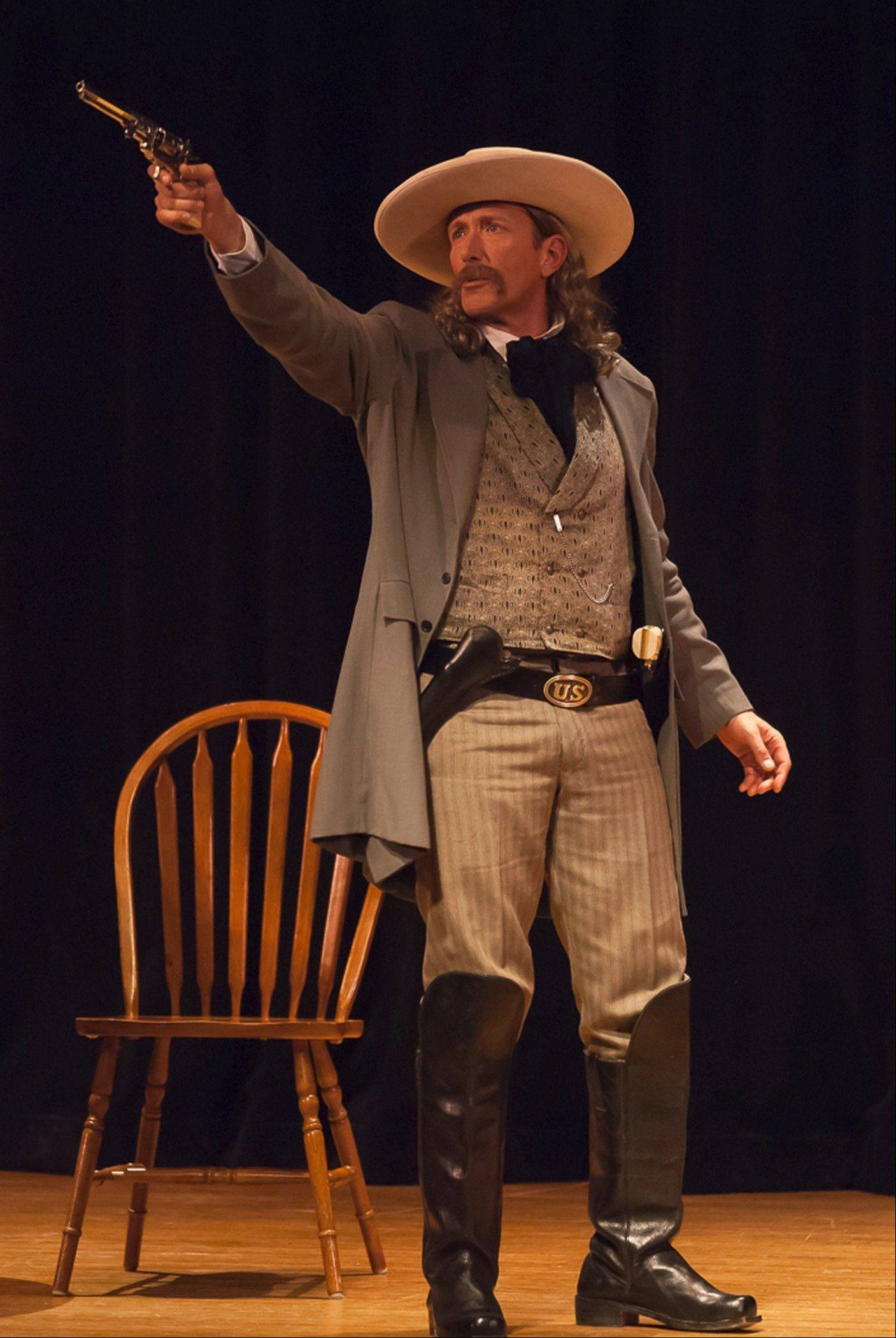 "Soap opera star Walt Willey appears in his one-man show, ""Wild Bill! An Evening With James Butler Hickok,"" at Fox Valley Reperotry at Pheasant Run Resort in St. Charles on Friday and Saturday, Oct. 25-26."