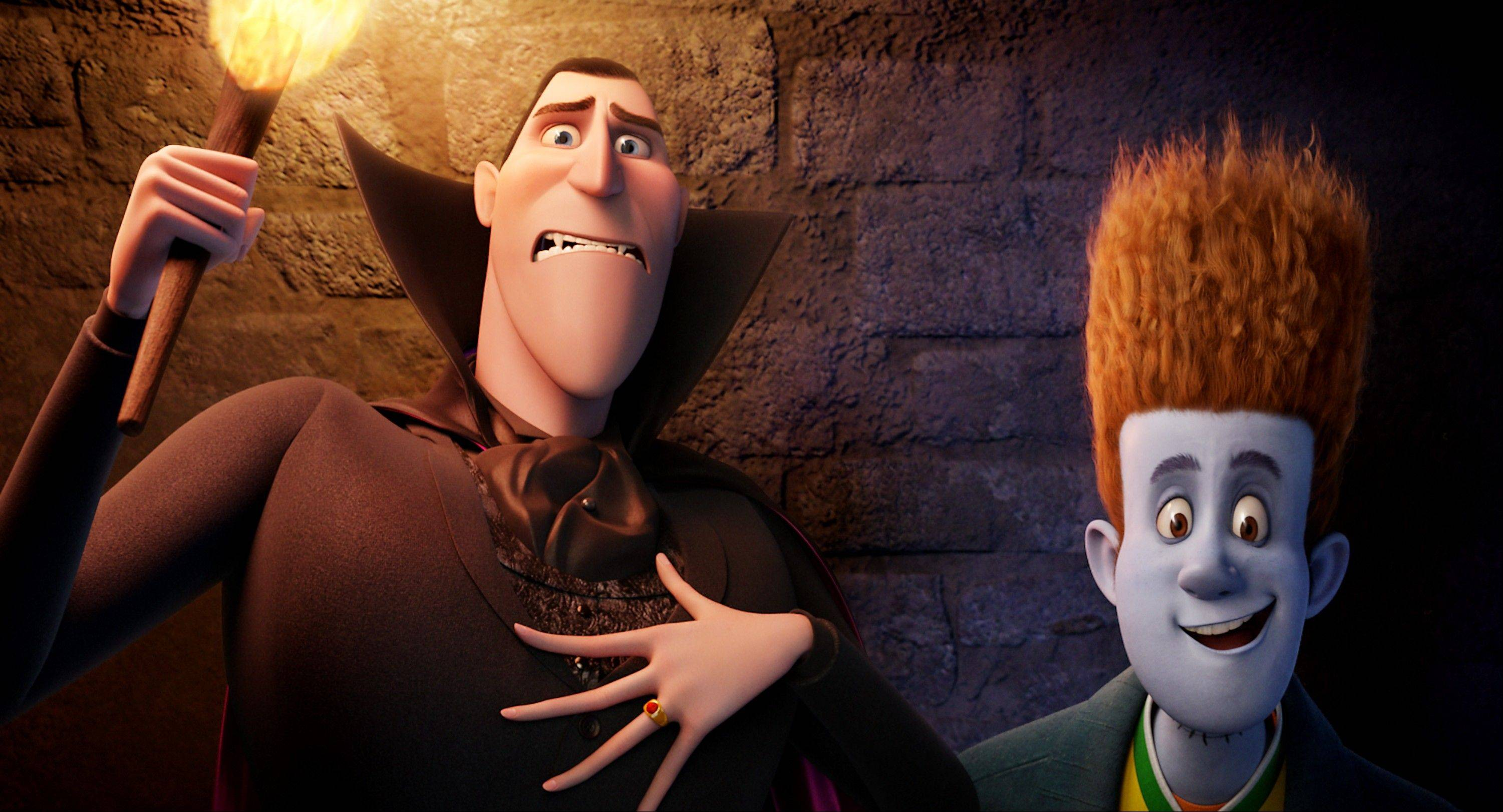 "See free showings of ""Hotel Transylvania"" Saturday morning at some suburban theaters."