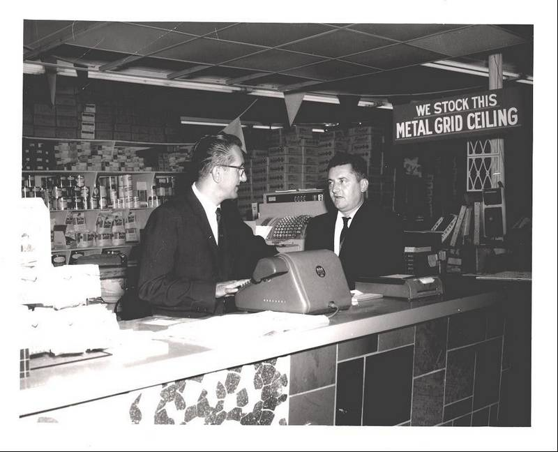 Century Tile Founders Frank Parks Sr Left And Paul Spiewakare Shown In The
