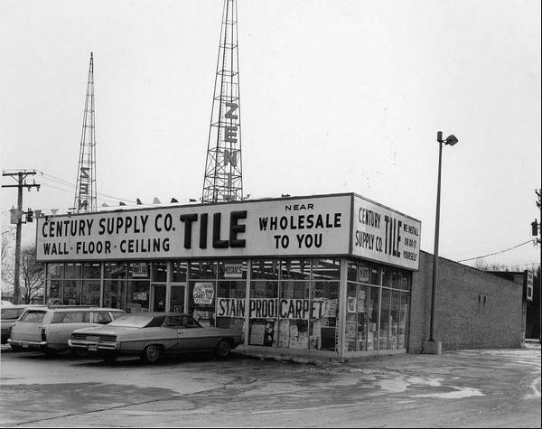 Century Tile S Mount Prospect At Rand And Central Roads Is Shown In 1972 Shortly