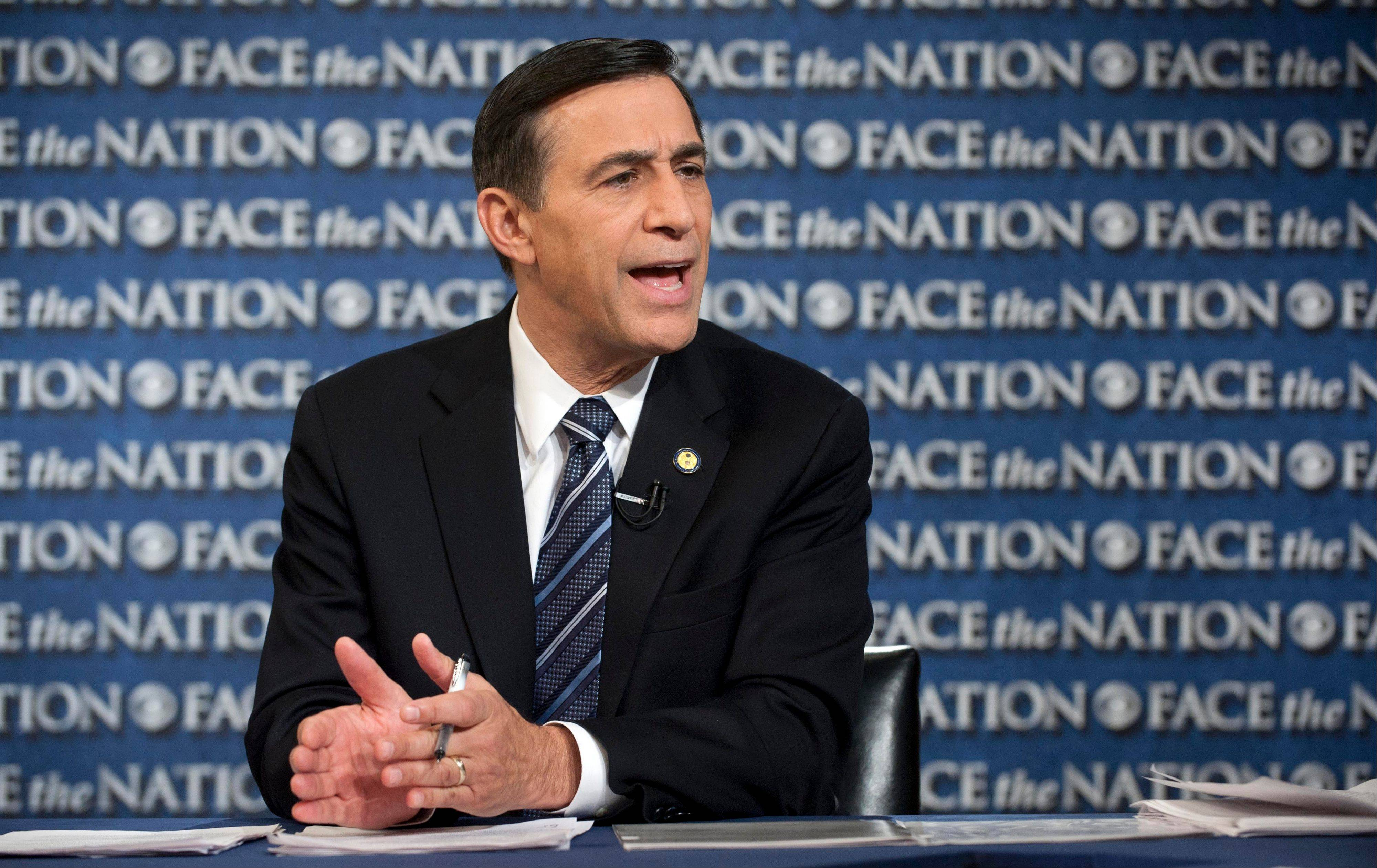 "Rep. Darrell Issa, Chairman of the House Oversight and Government Reform Committee, said Sunday on CBS's ""Face the Nation"" that the president had been poorly served by Health and Human Services Secretary Kathleen Sebelius ""in the implementation of his own signature legislature."""
