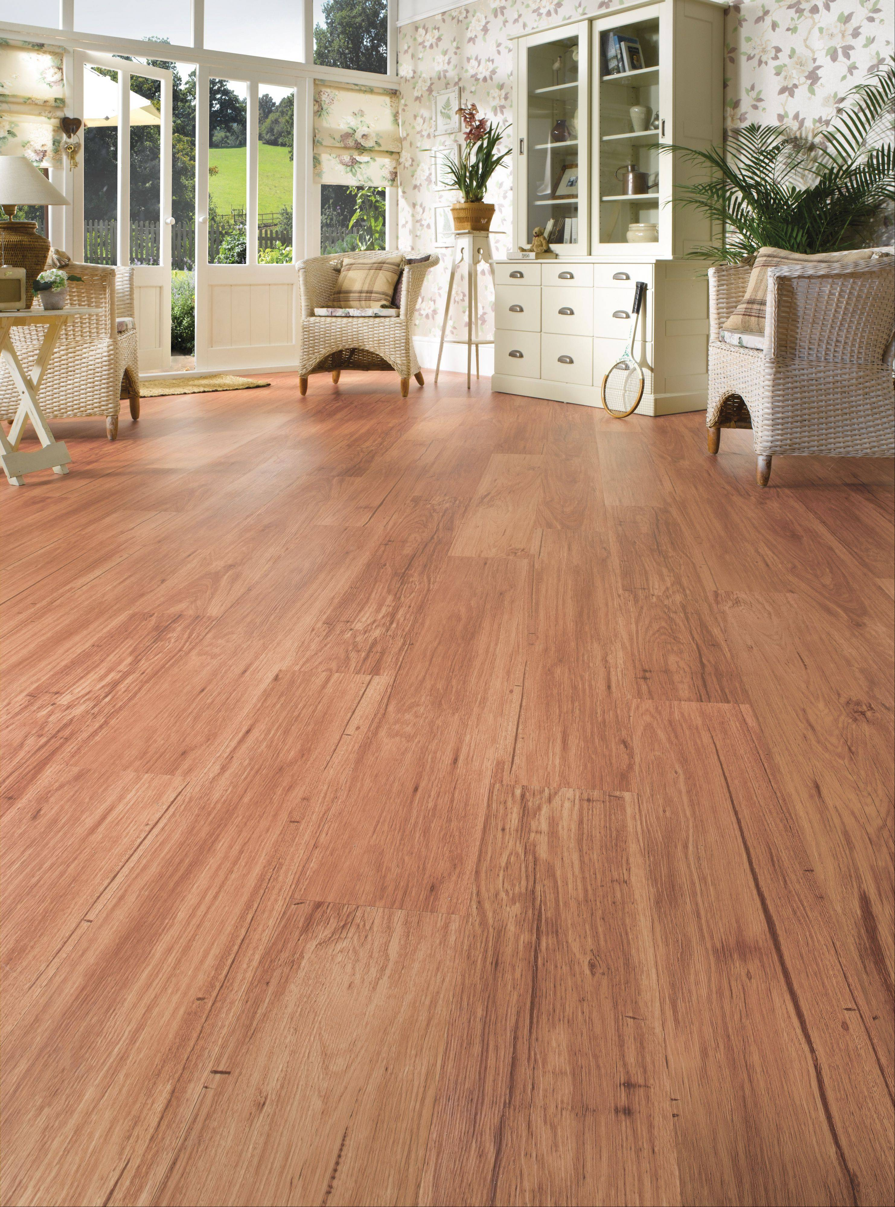Century Tile, which has 12 stores in the area, has been providing a lot of customers with vinyl tile made by Karndean that has the realistic look of wood or stone.