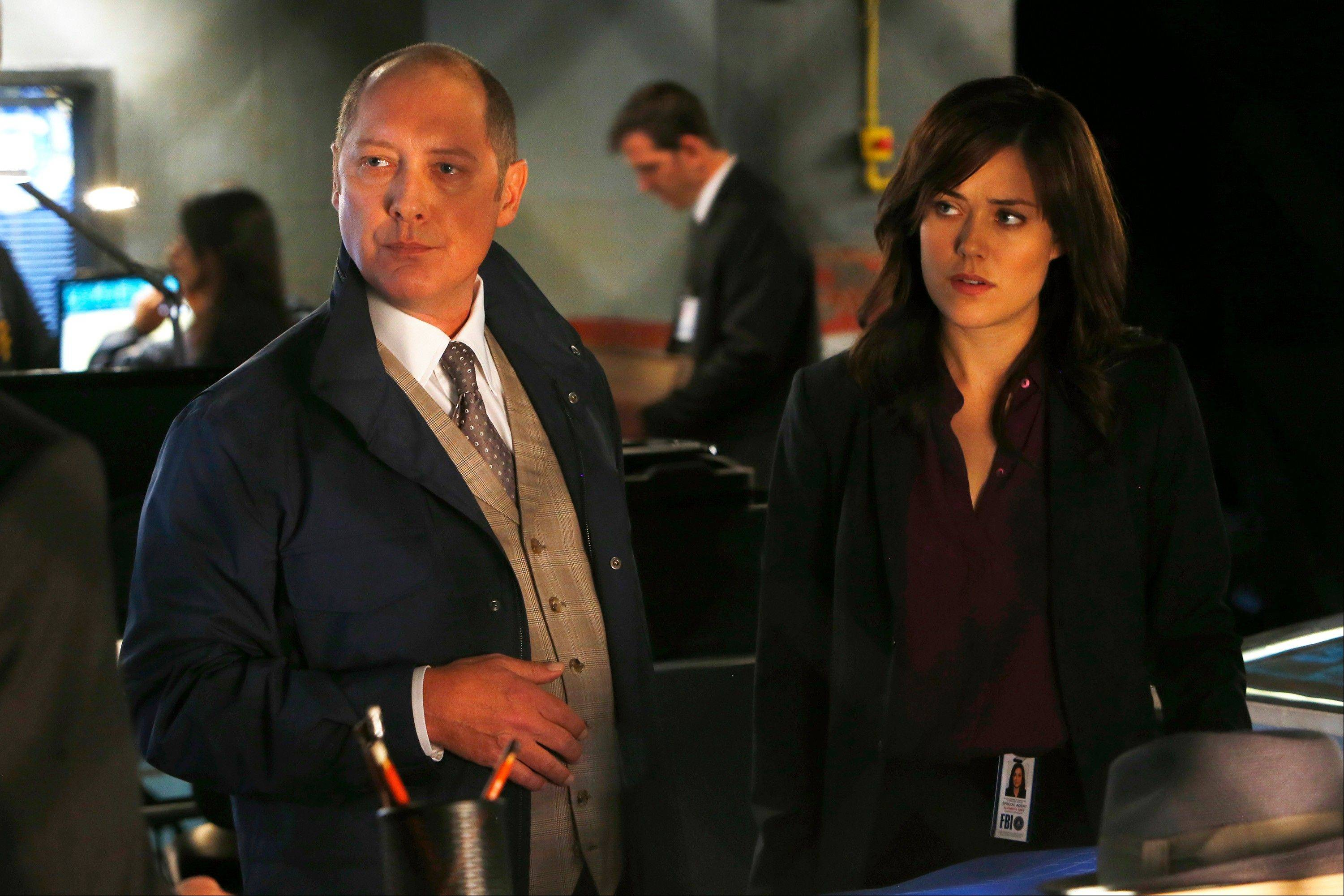 "The chemistry between James Spader as Raymond ""Red"" Reddington and Megan Boone as Elizabeth Keen has clicked right away in NBC's new series ""The Blacklist."" It airs at 9 p.m. Mondays on NBC."