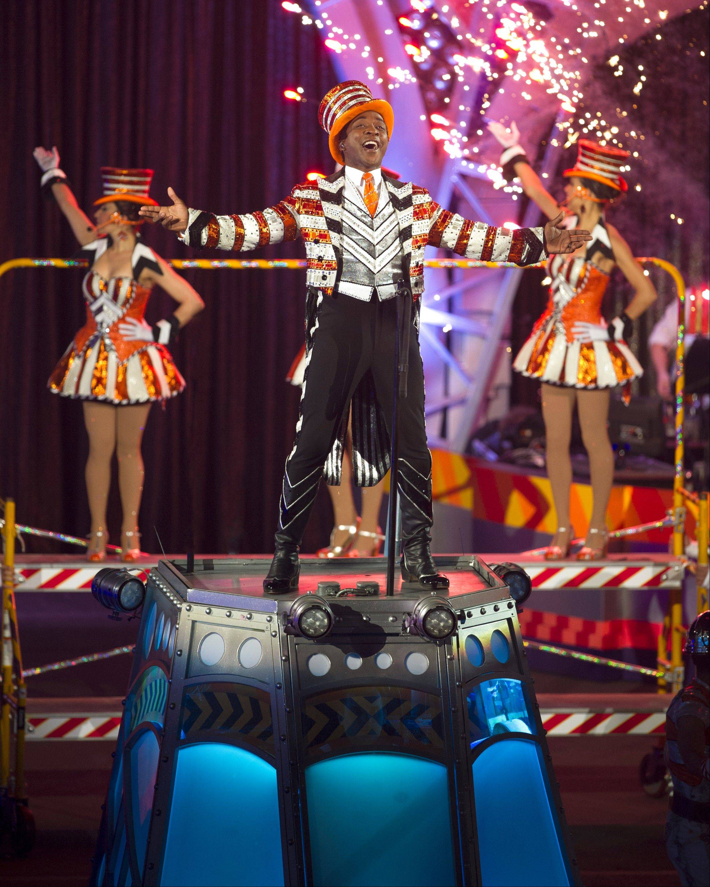 "Andre McClain is the Ring Master in the Ringling Bros. and Barnum & Bailey Circus show ""Built to Amaze!"""