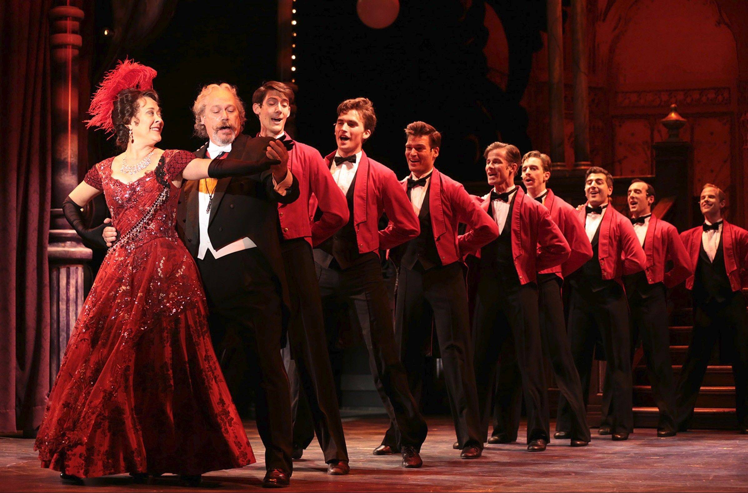 "Tony Award-winner Karen Ziemba stars as matchmaker Dolly Levi in Drury Lane Theatre's entertaining revival of Jerry Herman's ""Hello, Dolly!"""