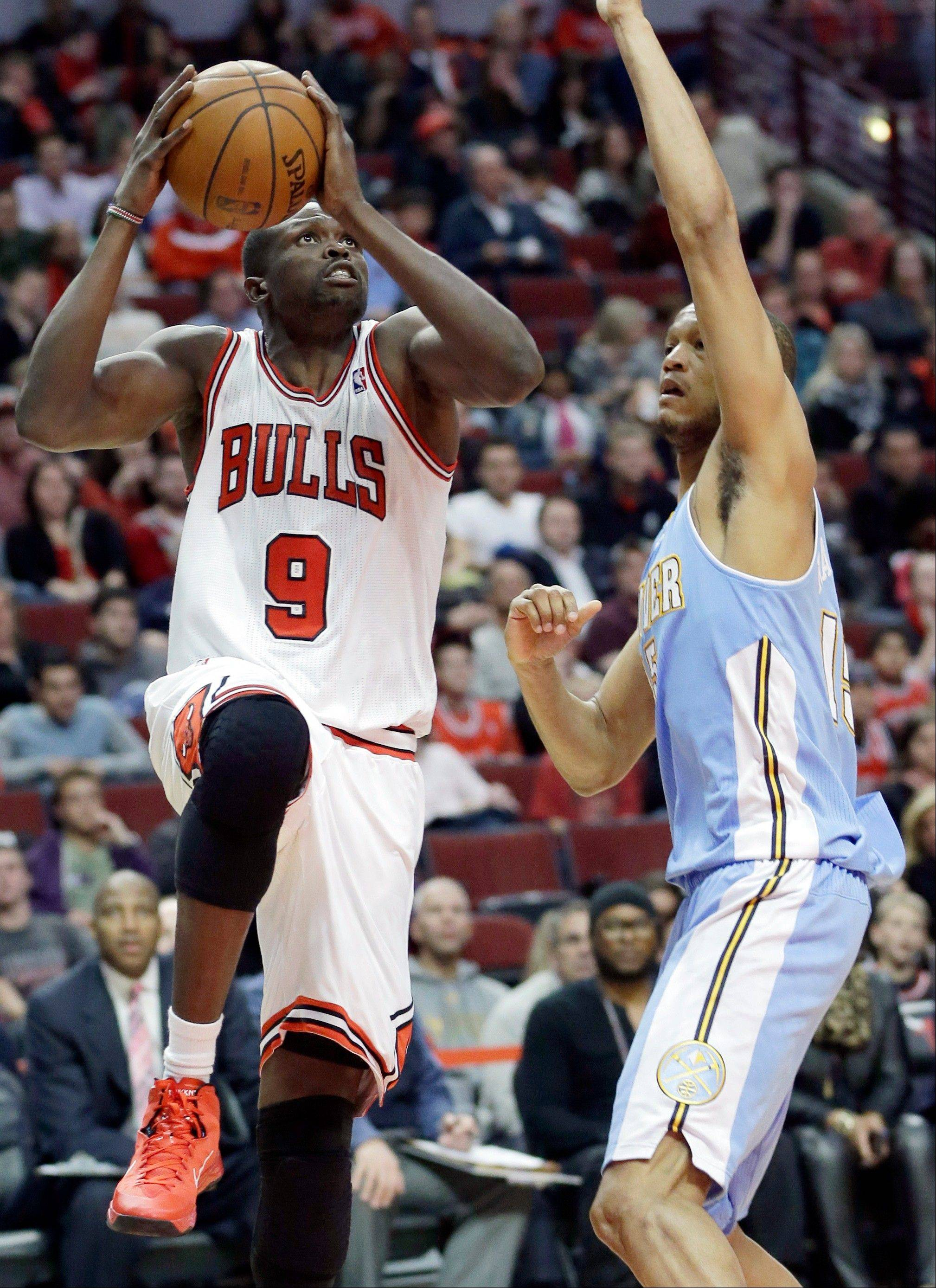 Luol Deng looked comfortable and confident on the floor as the Bulls went undefeated in the preseason.
