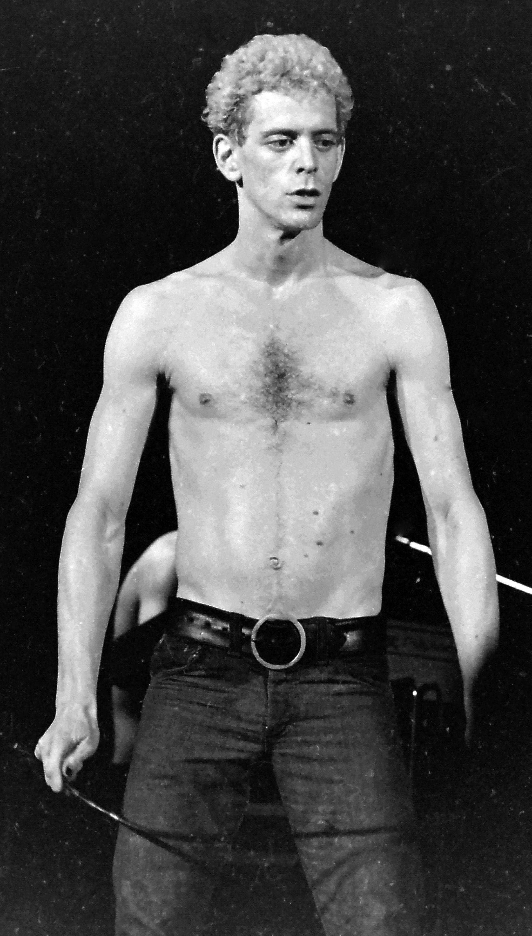Lou Reed, shown during a concert in 1974 in Milwaukee, died Sunday at the age of 71.