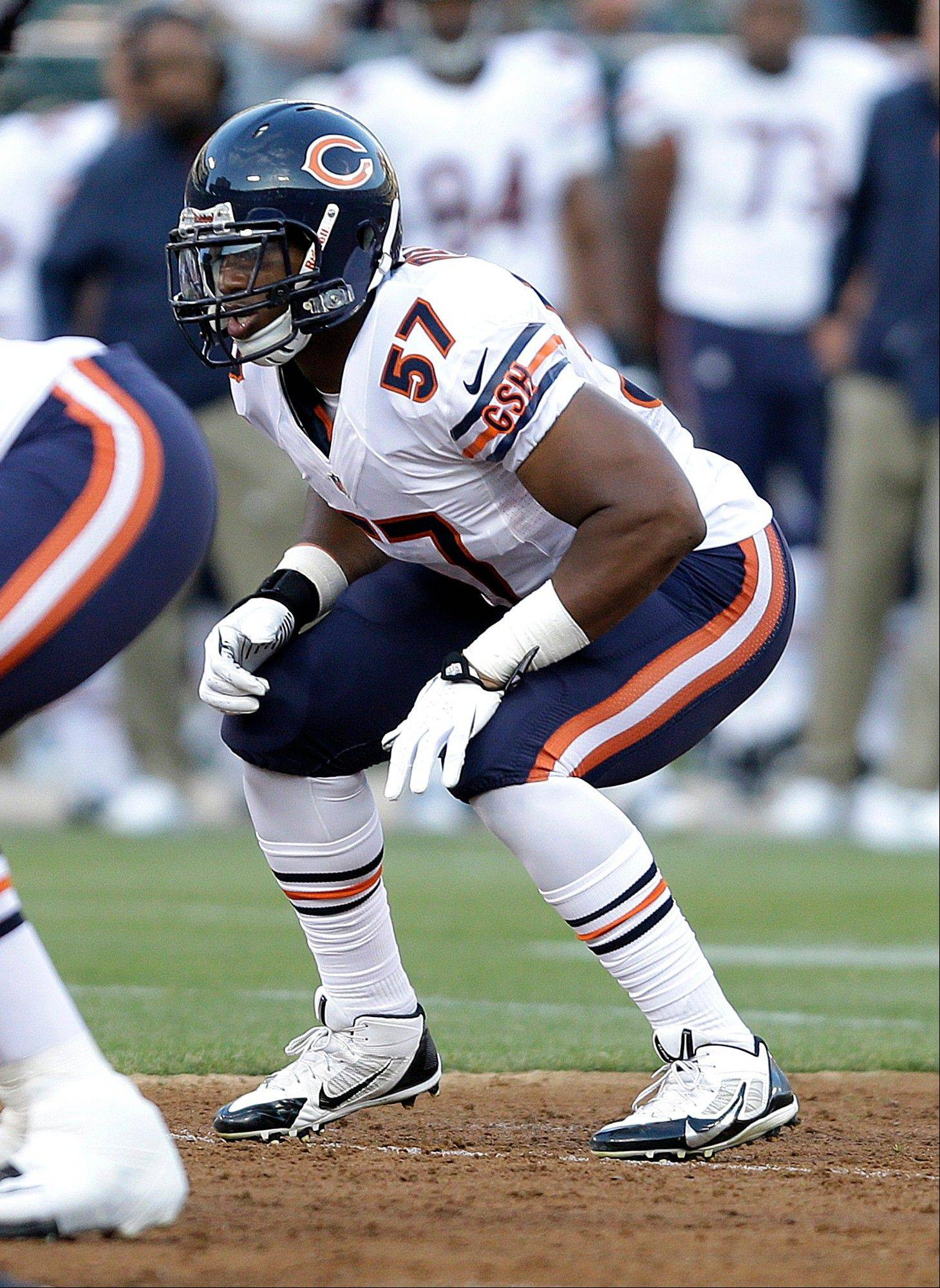Bears rookie linebacker Jon Bostic says practicing against the team�s offense is good preparation for facing opponents.