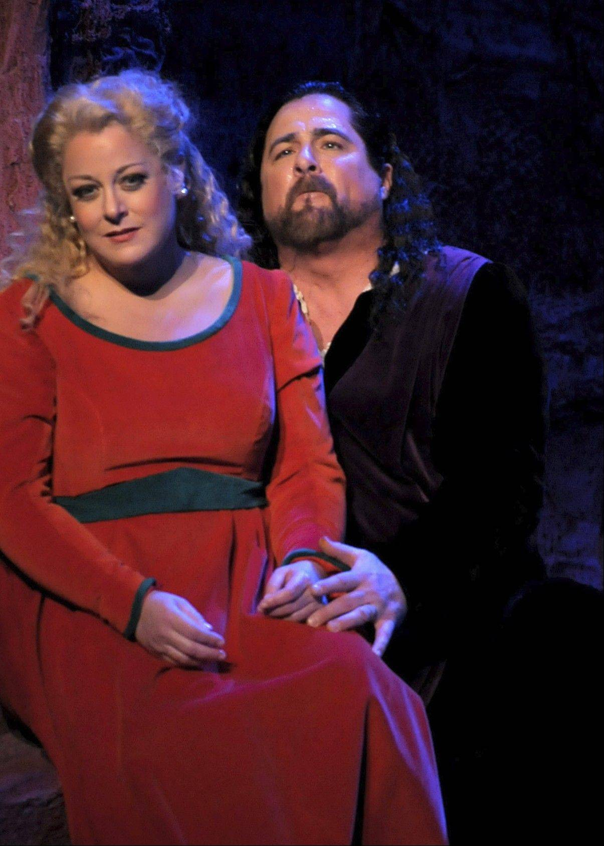 "American tenor Clifton Forbis, pictured with Wheeling native Deborah Voigt in the Lyric Opera of Chicago's ""Tristan & Isolde,"" will replace South African tenor Johan Botha for the final two performances of Verdi's ""Otello."""