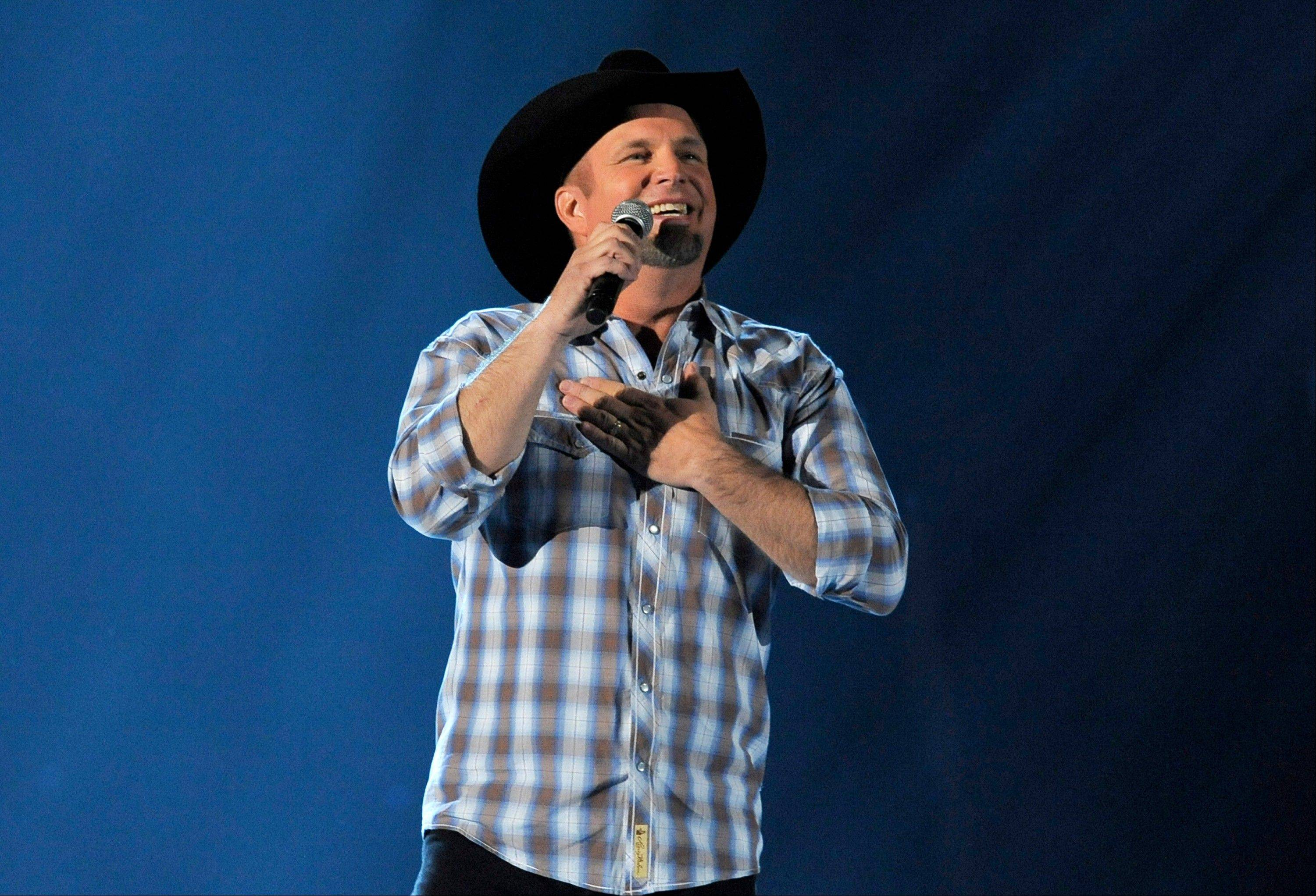 CBS will air a rare live broadcast concert special by Garth Brooks from the Encore Theater at the Wynn Las Vegas on Friday, Nov. 29.