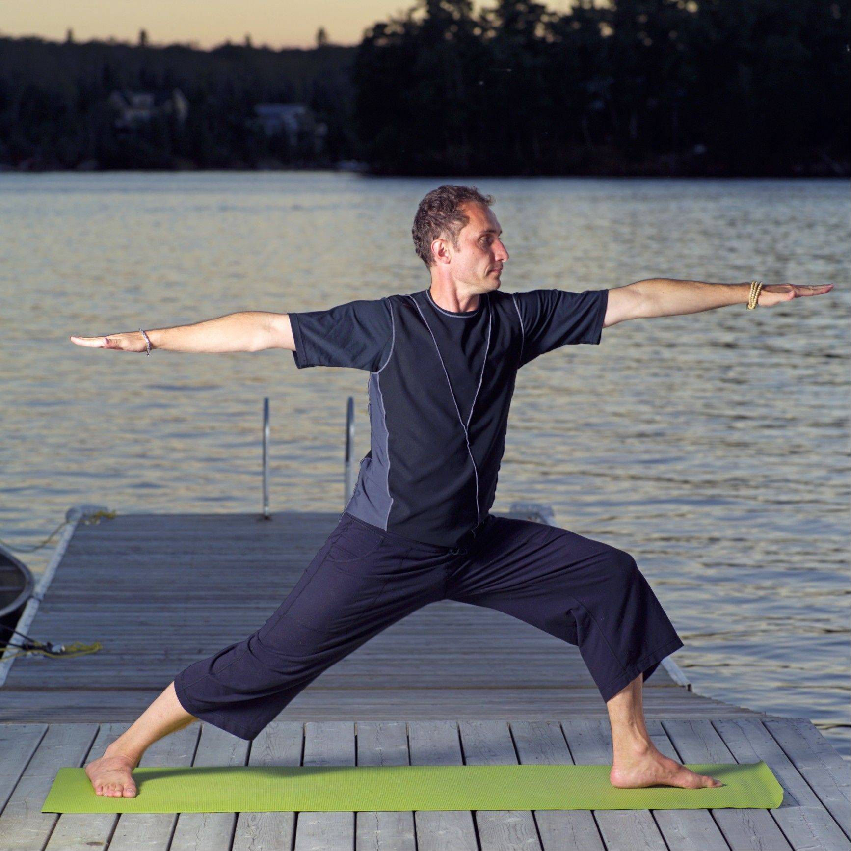Some men who have started doing yoga say they eventually get hooked on it after realizing how good they feel.