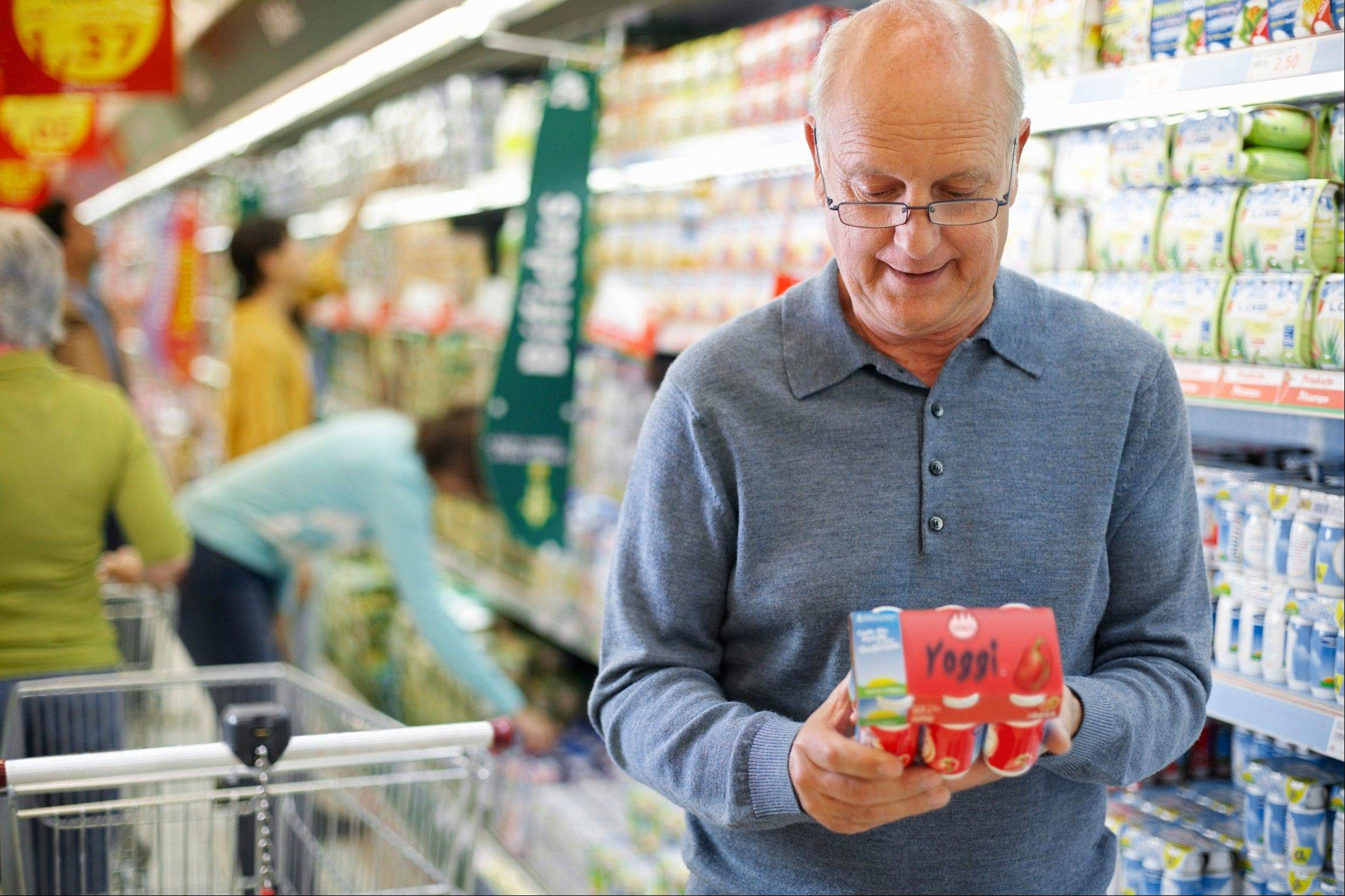 Buying yogurt at your next grocery store trip is a way to get healthy probiotics into your diet.