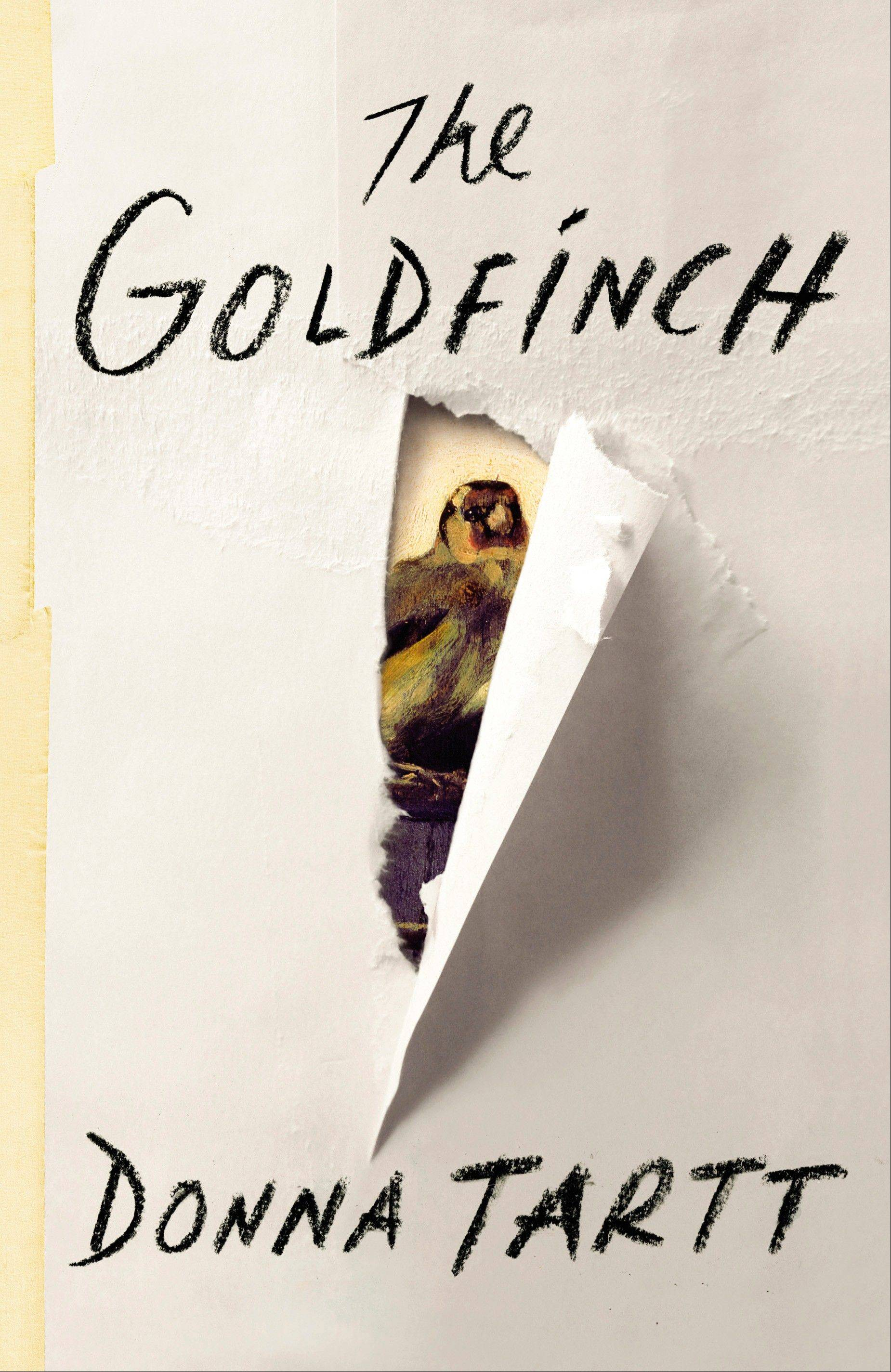"In Donna Tartt's third novel, ""The Goldfinch,"" follows the life of a boy whose world is turned upside down when an ordinary excursion to the Metropolitan Museum of Art in New York City erupts in a sudden, senseless act of violence."
