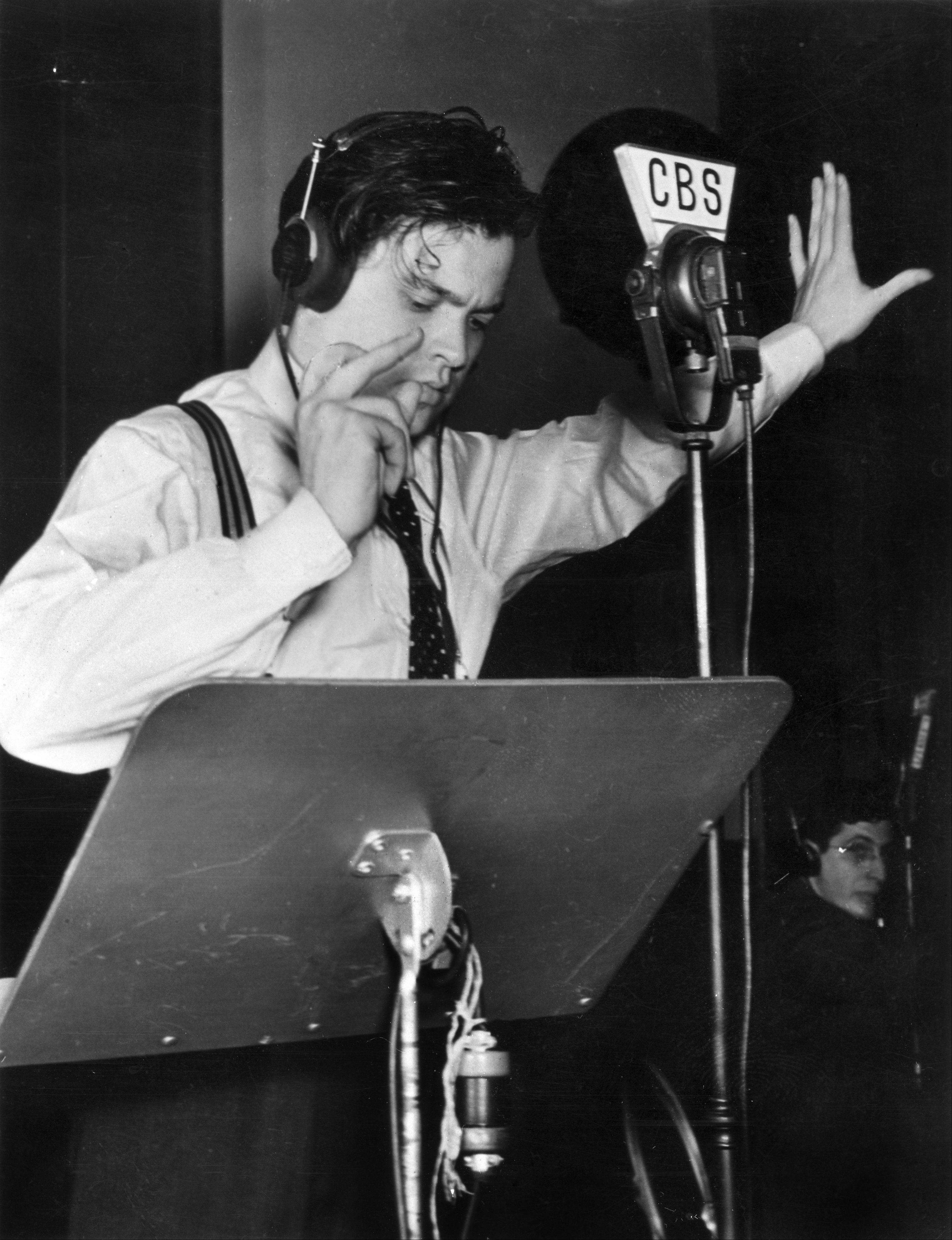 """American Experience"" marks the 75th anniversary of the CBS radio broadcast of ""The War of the Worlds"" by Orson Welles. The ""Mercury Theatre on the Air"" adaptation of the H.G. Wells science-fiction novel had many listeners in a panic thinking they were listening to a real news broadcast."