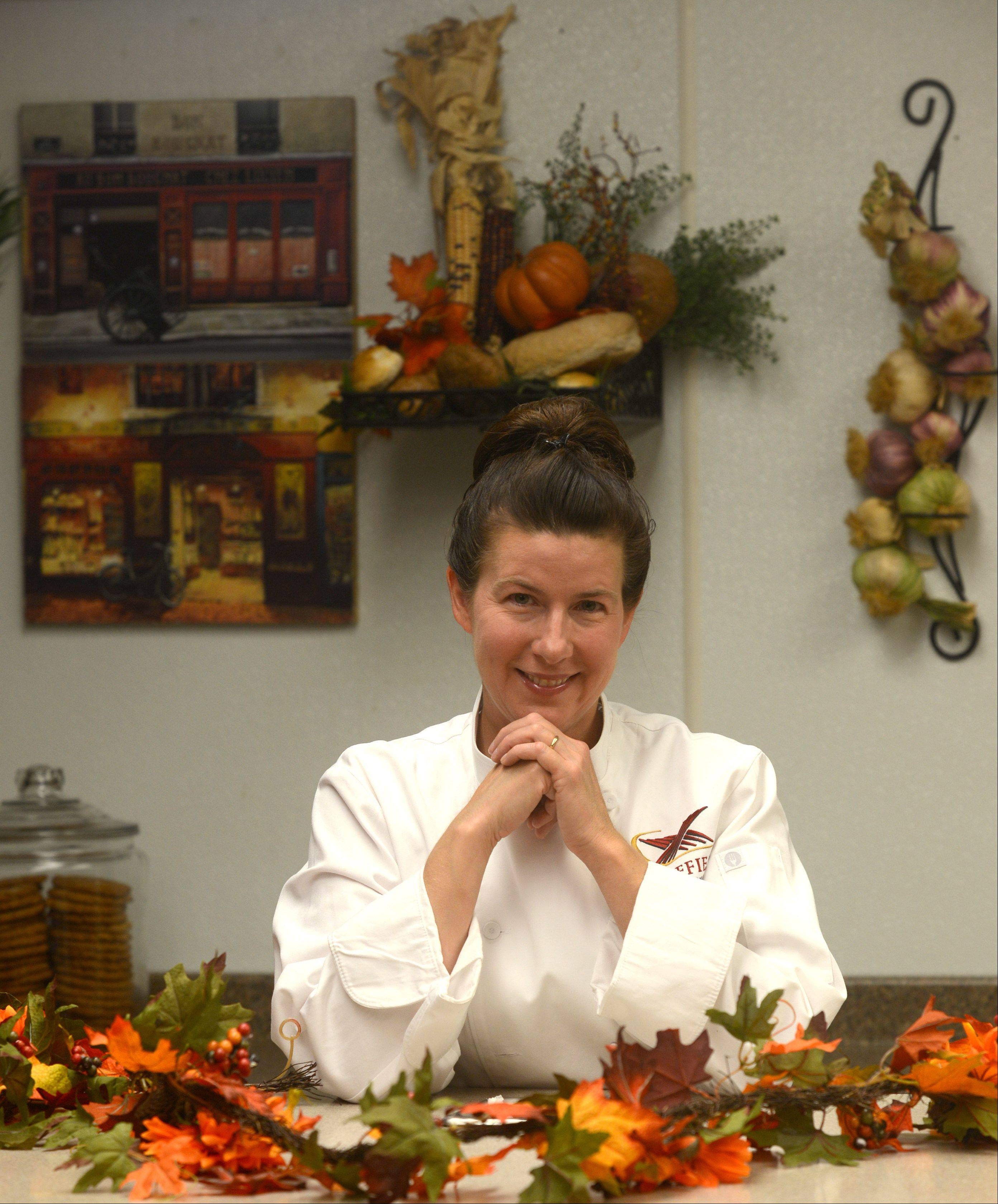 Chef Susie Wolak, a Lisle High School and College of DuPage graduate, teaches and advises aspiring pastry chefs through Escoffier Online Culinary Academy.