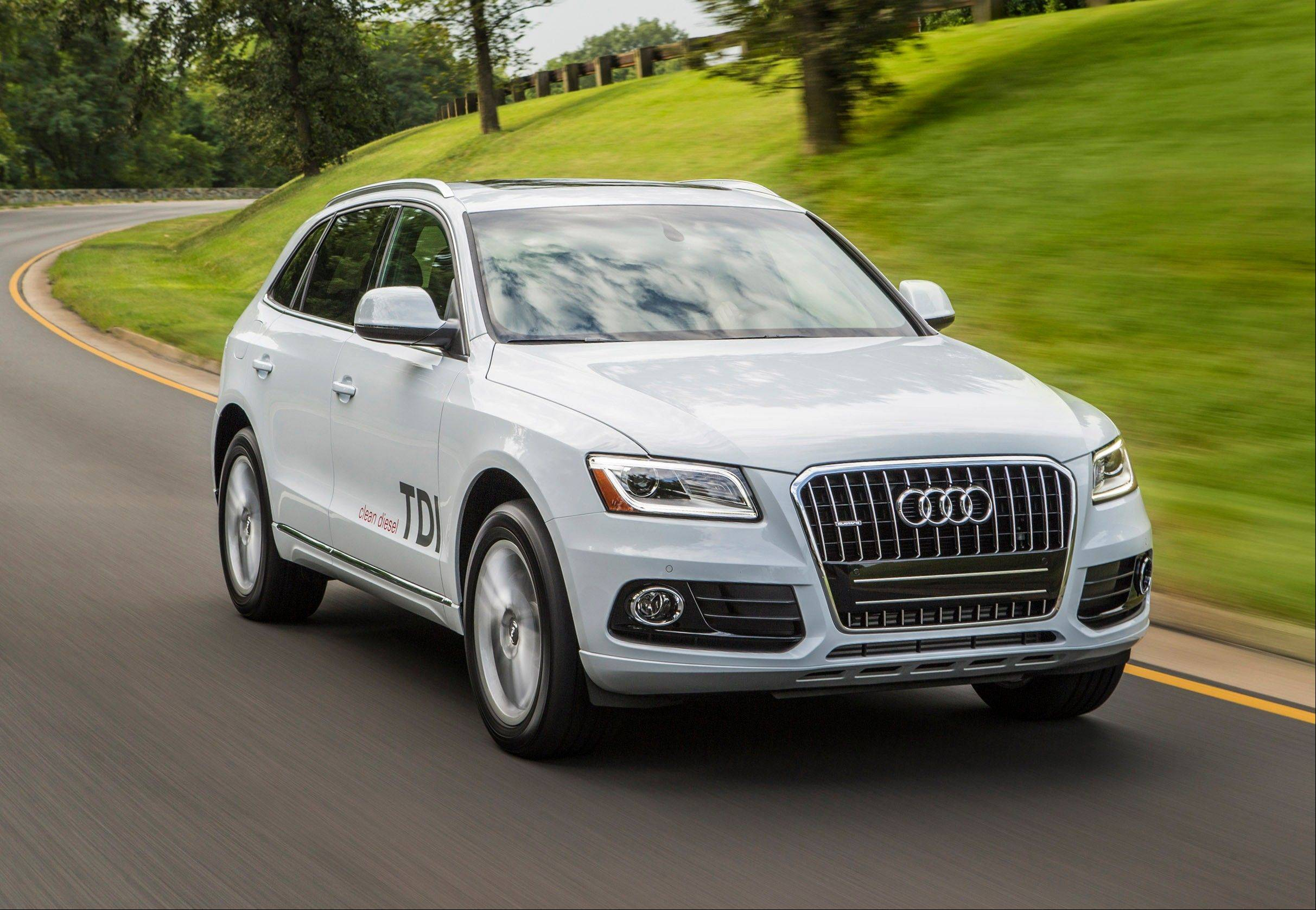 This undated image made available by Audi shows the 2014 Audi Q5 TDI. On Monday, Japanese brands took top spots in a Consumer Reports reliability survey.