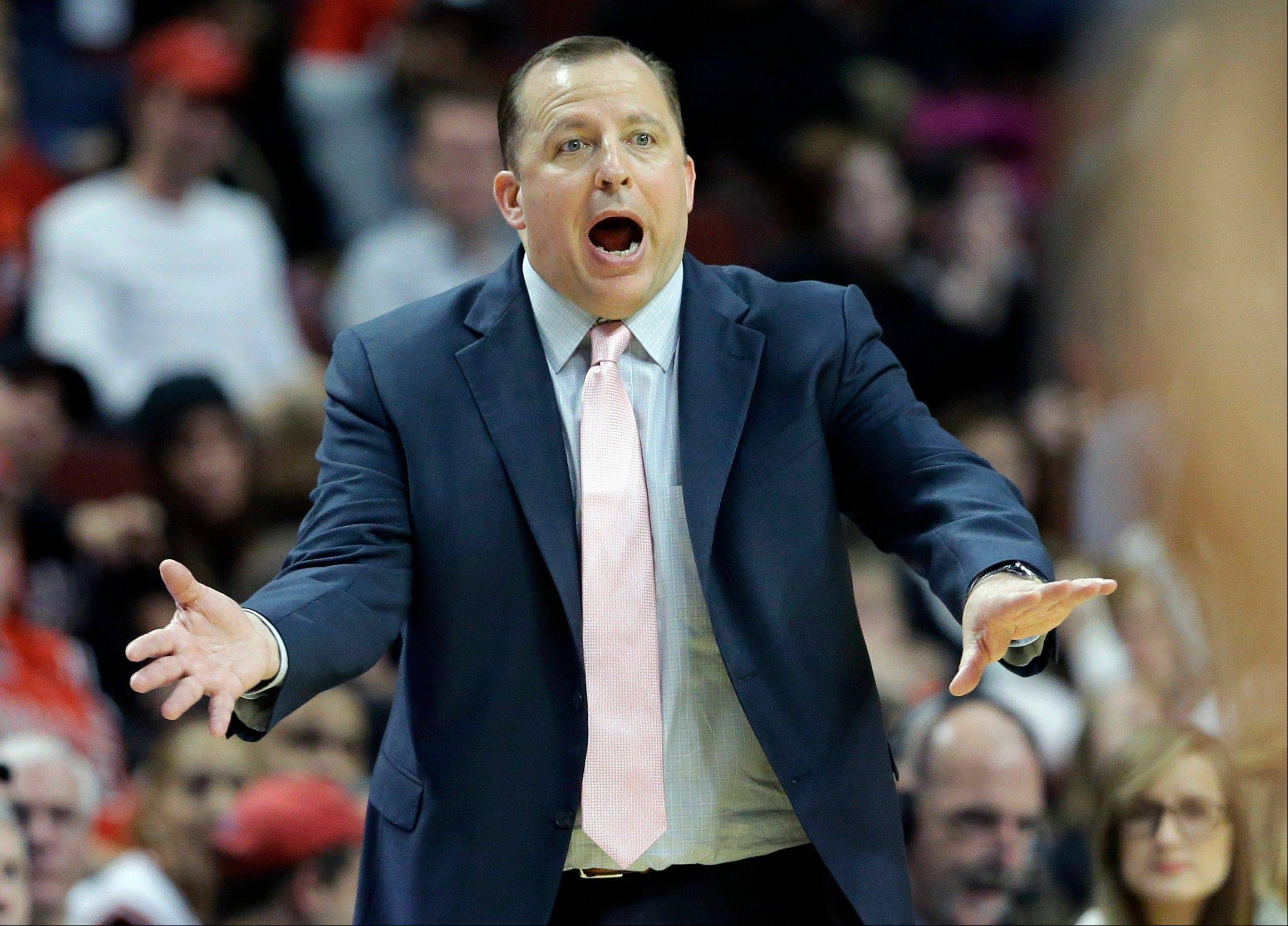 Bulls coach Tom Thibodeau knows only one way to do ... his ... job, and he's not about to change anytime soon.