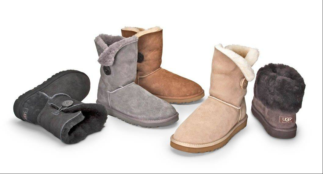 Ugg Australia's Bailey style added a button to the brand's classic boot. It was part of a successful formula to keep core customers while wooing new ones.