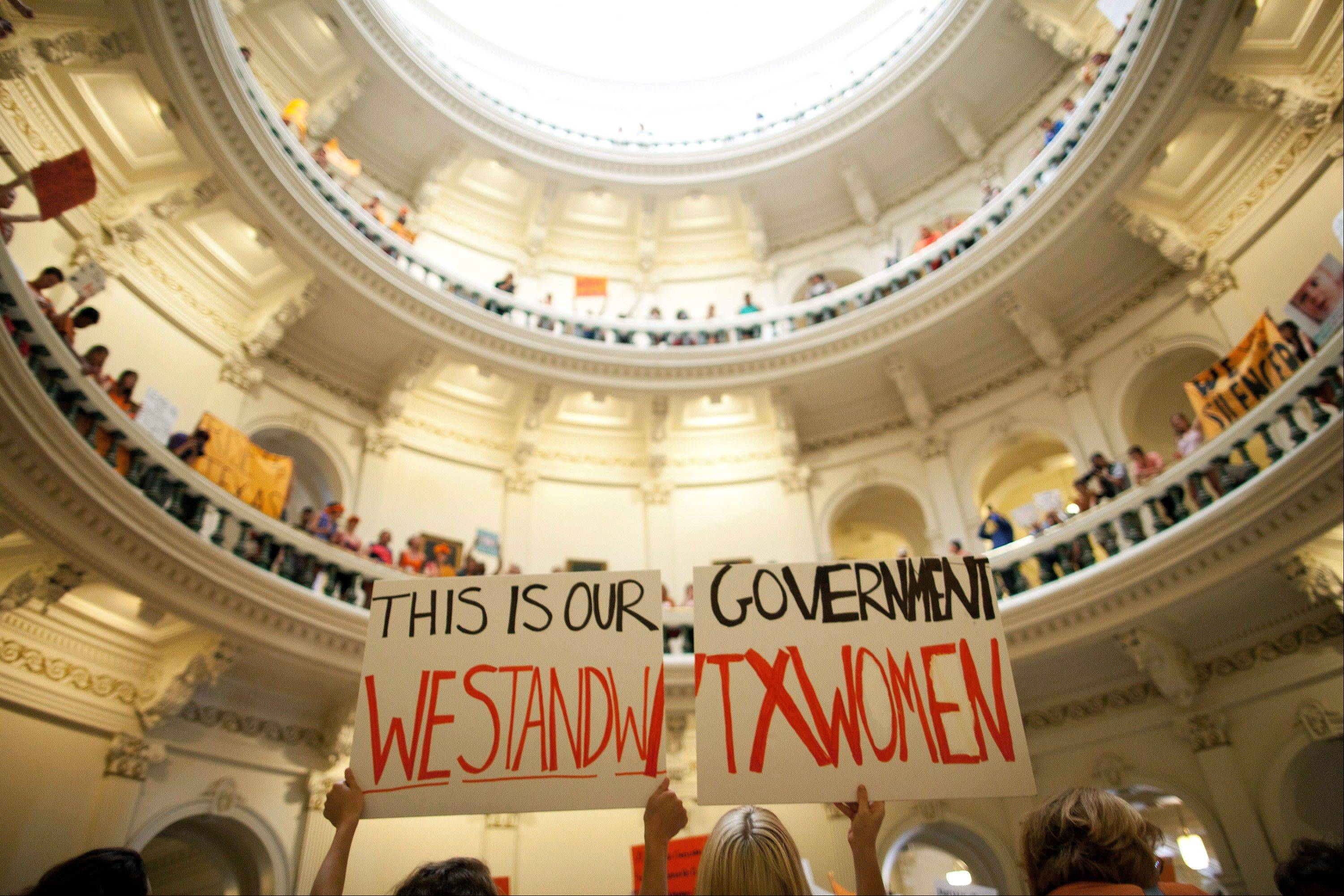New abortion restrictions passed by the Texas Legislature are unconstitutional and will not take effect as scheduled on Tuesday, Oct. 29, 2013, a federal judge has ruled.