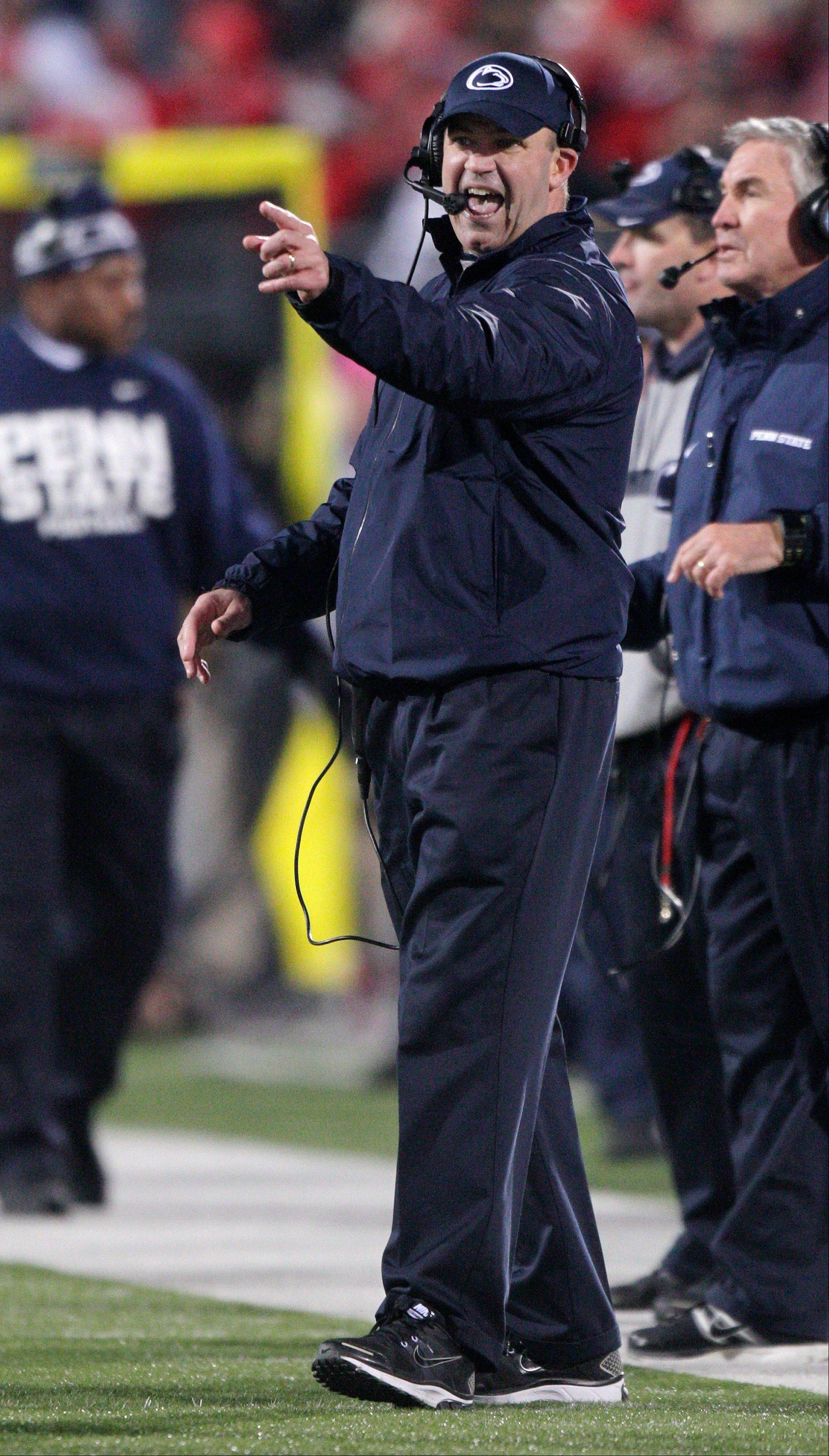 Penn St. coach defensive about shaky defense