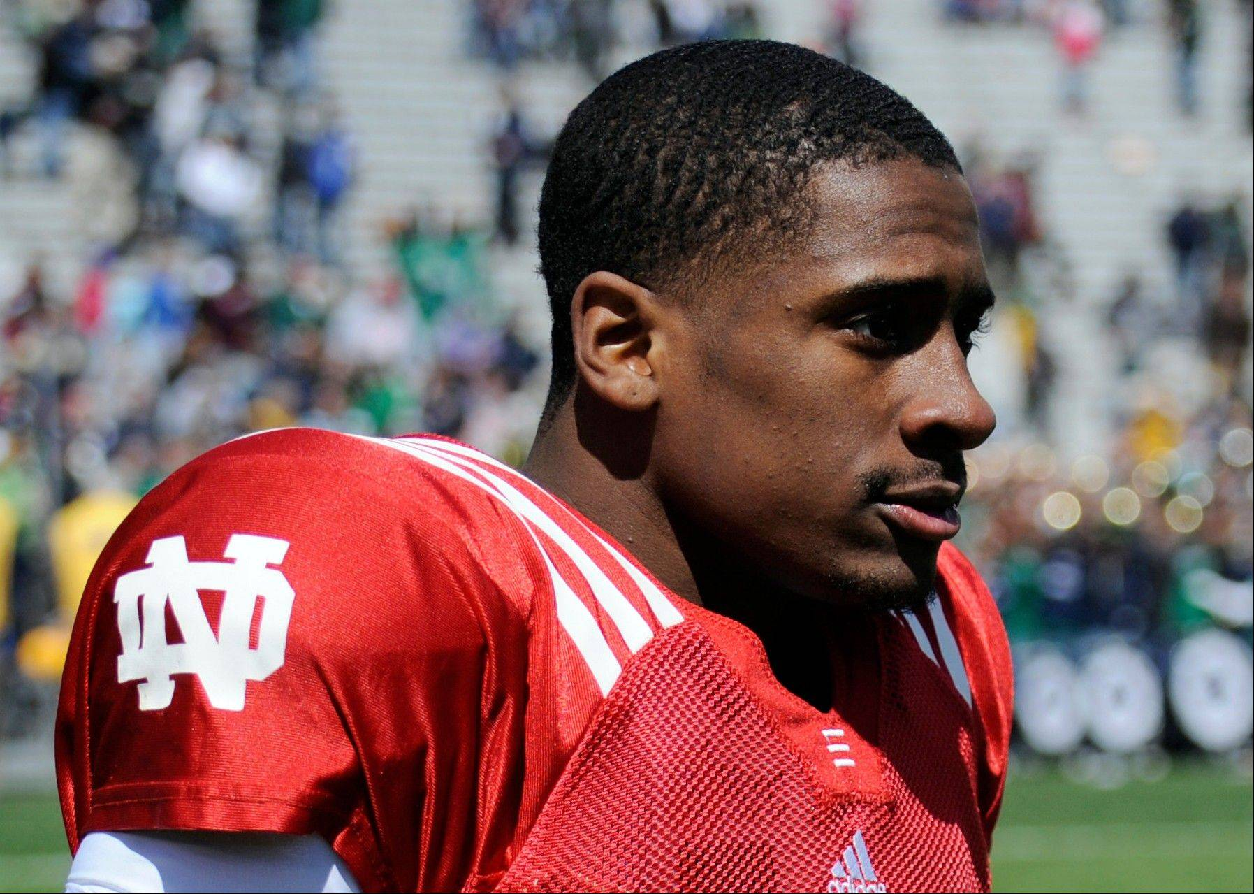 Suspended Notre Dame quarterback Everett Golson has two years of eligibility left.