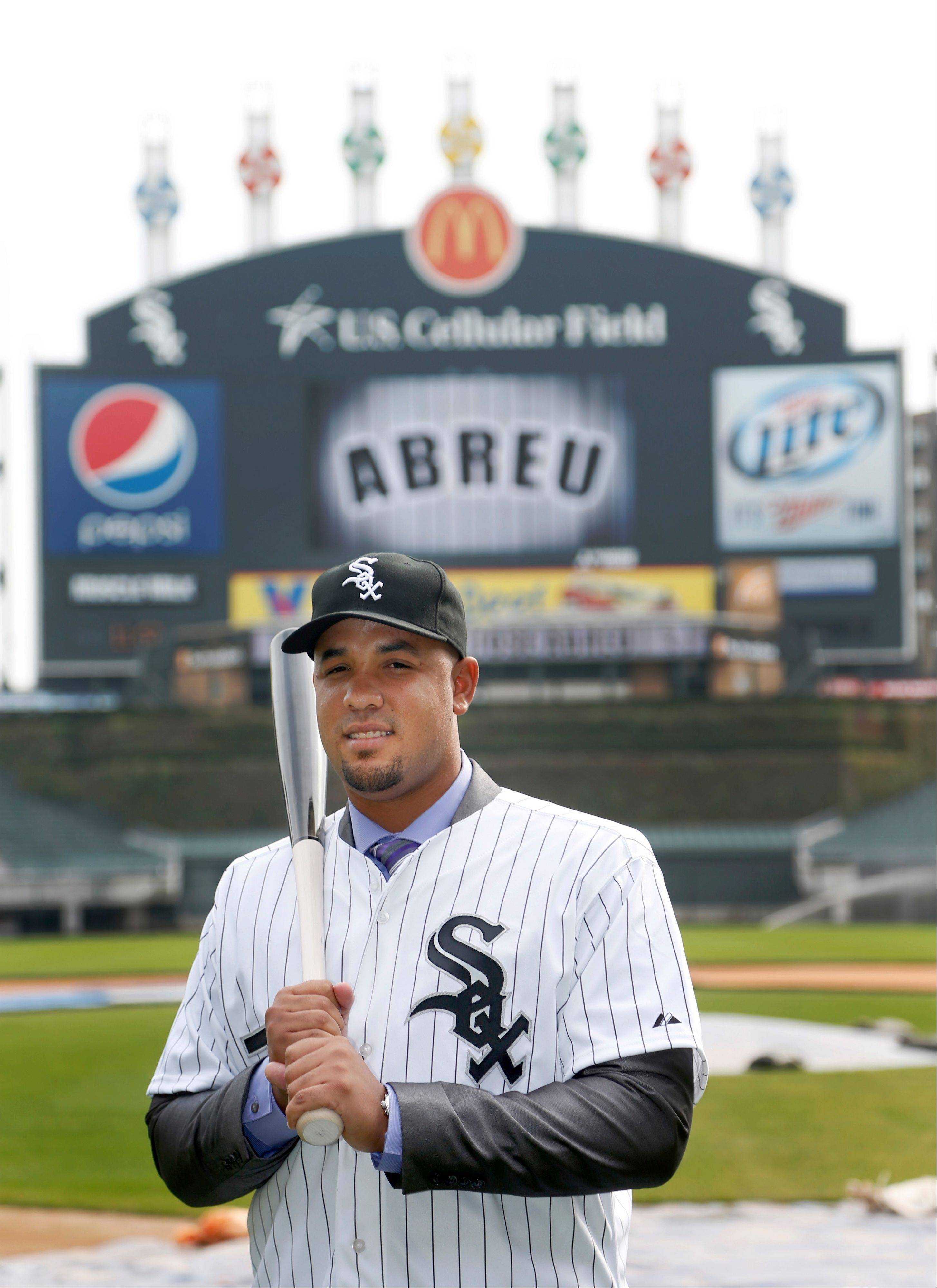 Cuban slugger Jose Abreu will receive a signing bonus of $10 million and be paid $7 million in 2014 to play for the White Sox.