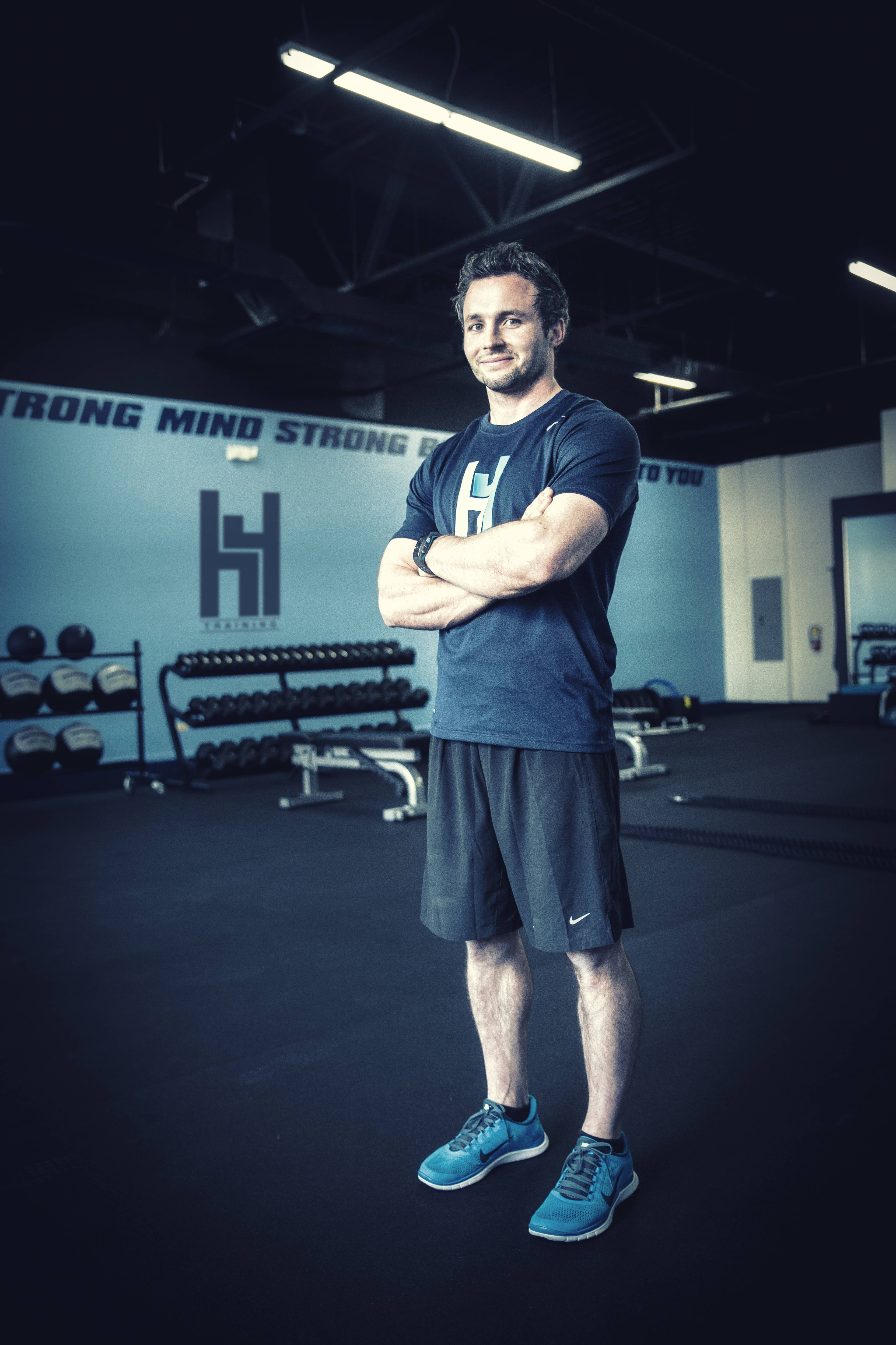 Owner and Coach of H4 Training, Hank Ebeling IV. Photo is taken inside the brand new 3,000 square foot facility.
