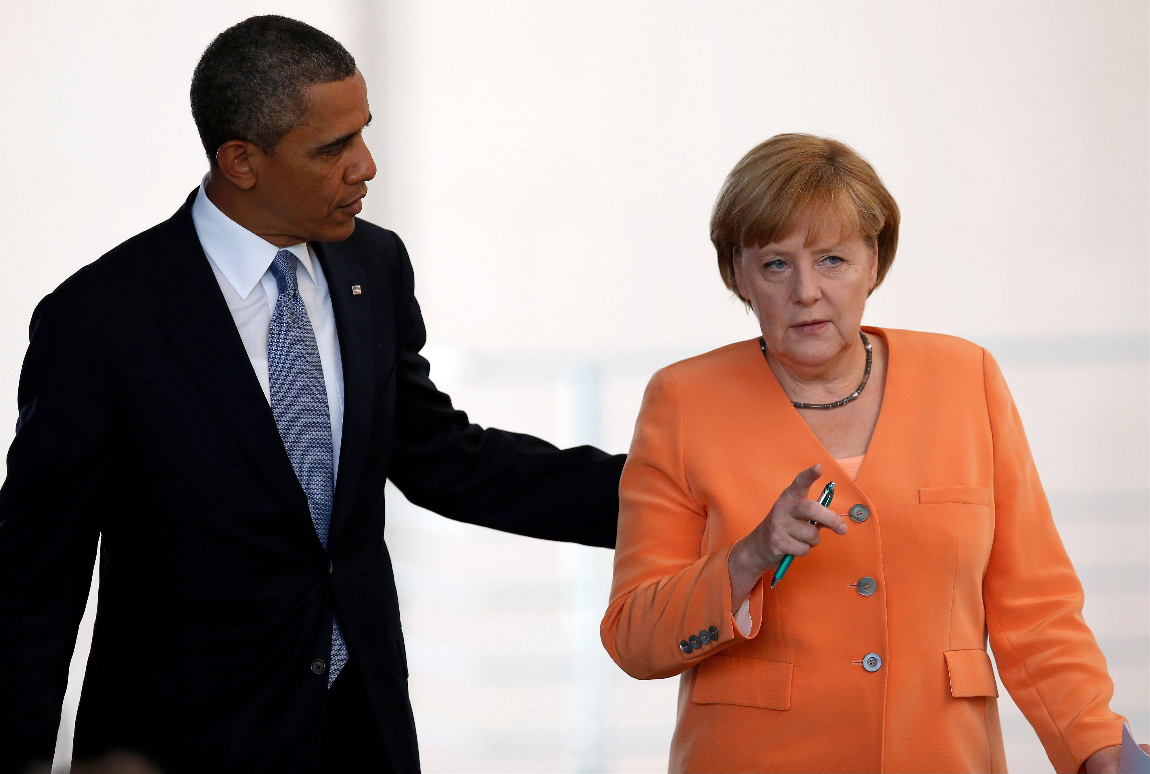 Spying tests trust between Obama, Merkel