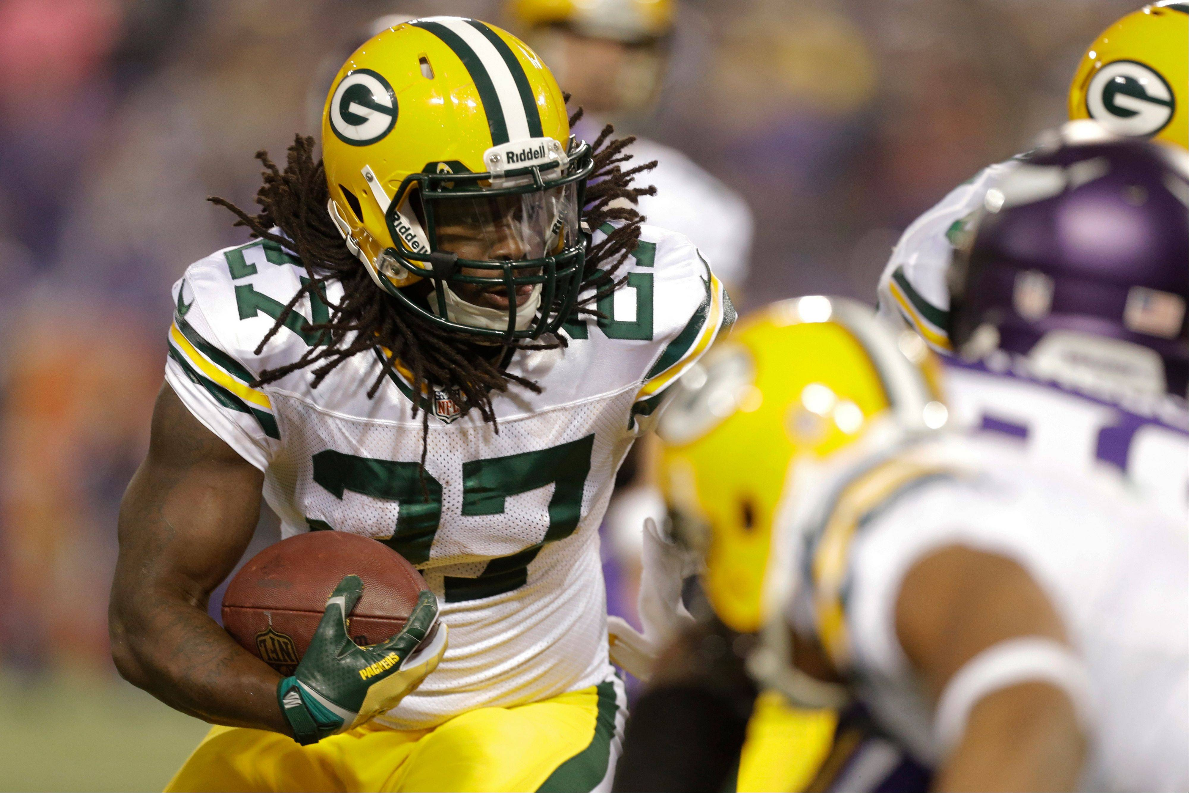 Yes, the Green Bay Packers do have a running game, especially with rookie Eddie Lacy churning up some big yardage.