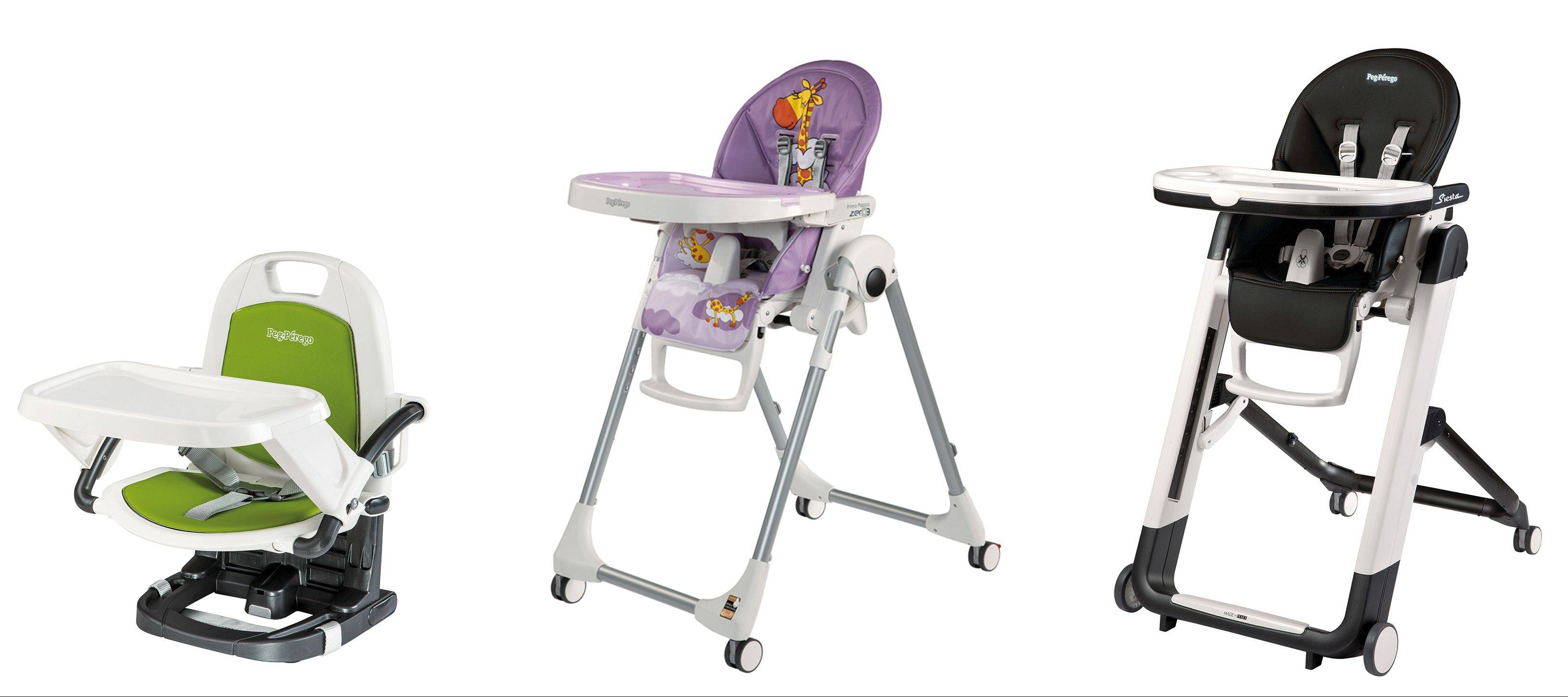 Feeding a baby is a messy business, but high chairs have come a long way, with designs that go beyond ponies and giraffes to fit seamlessly into your home.