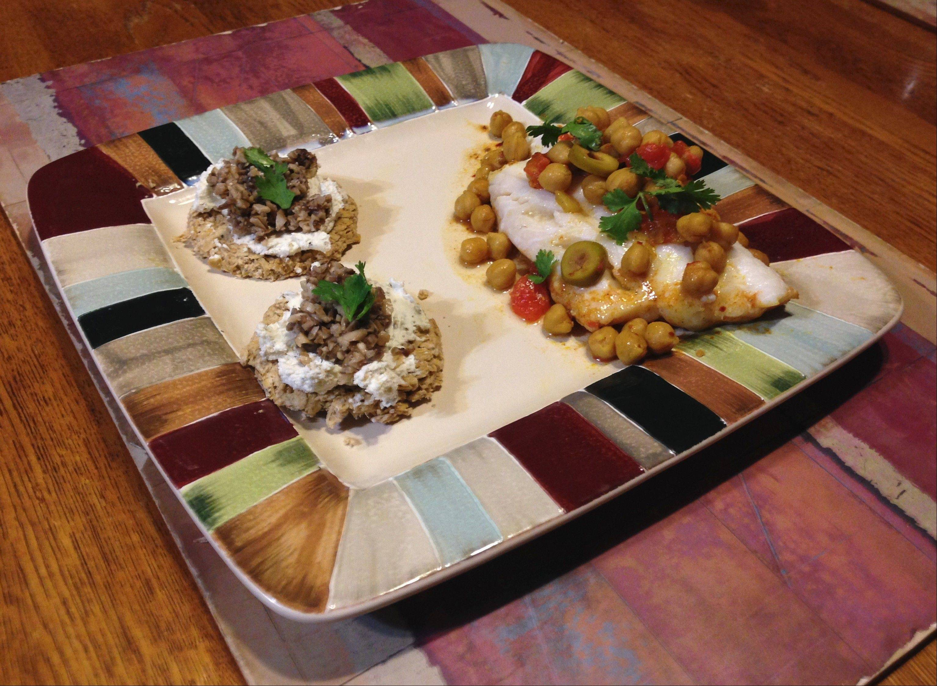 Not one to shy away from a challenge, Michael Pennisi gave cod a Moroccan flare and served it with oaty crostini.