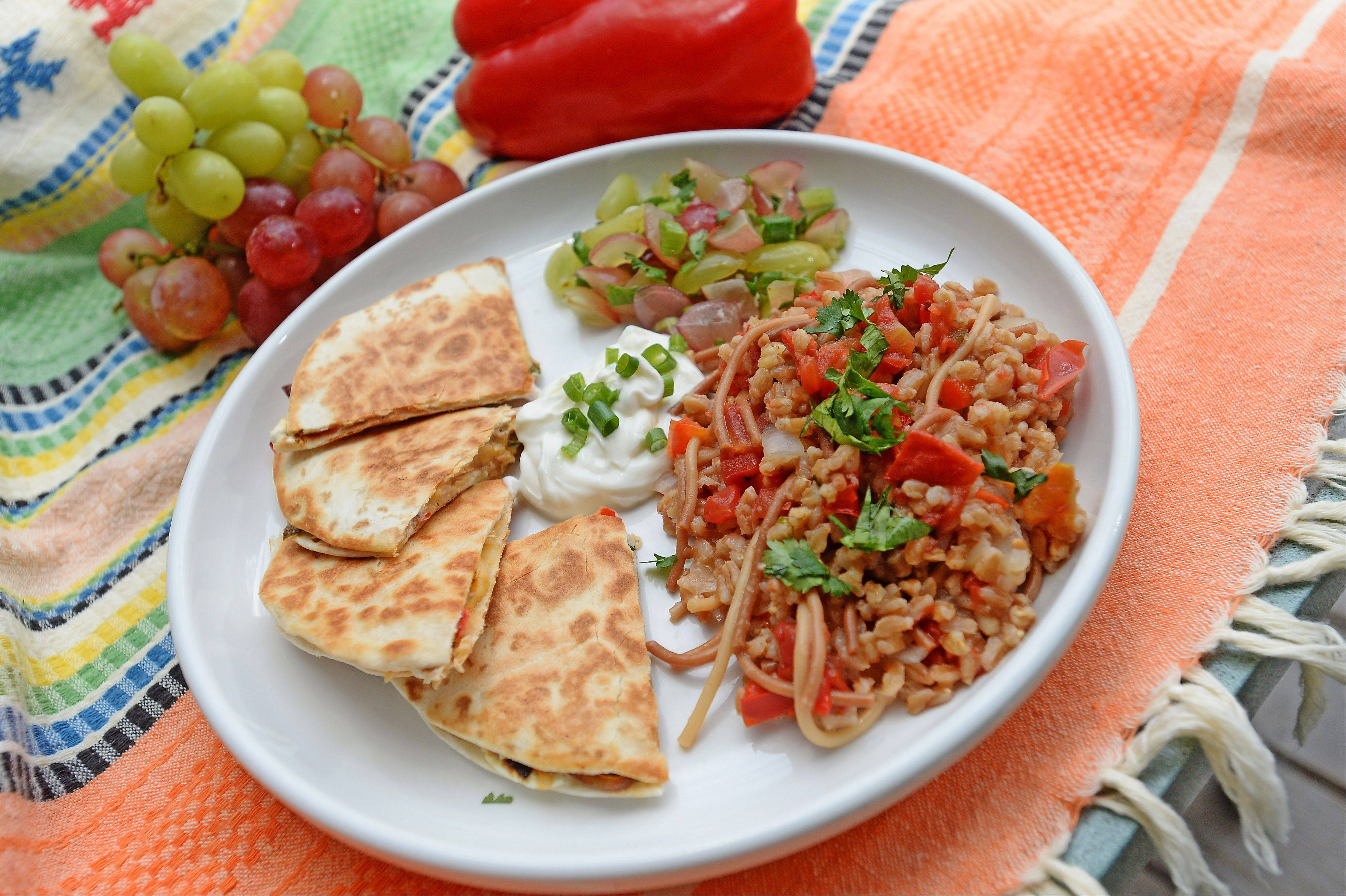 2011 Cook of the Year Penny Kazmier wasn't afraid to put her competitive cooking skills to the test. How do you think her Salmon Quesadillas with Grape Salsa and Spanish Farro stack up against the 2013 contestants?