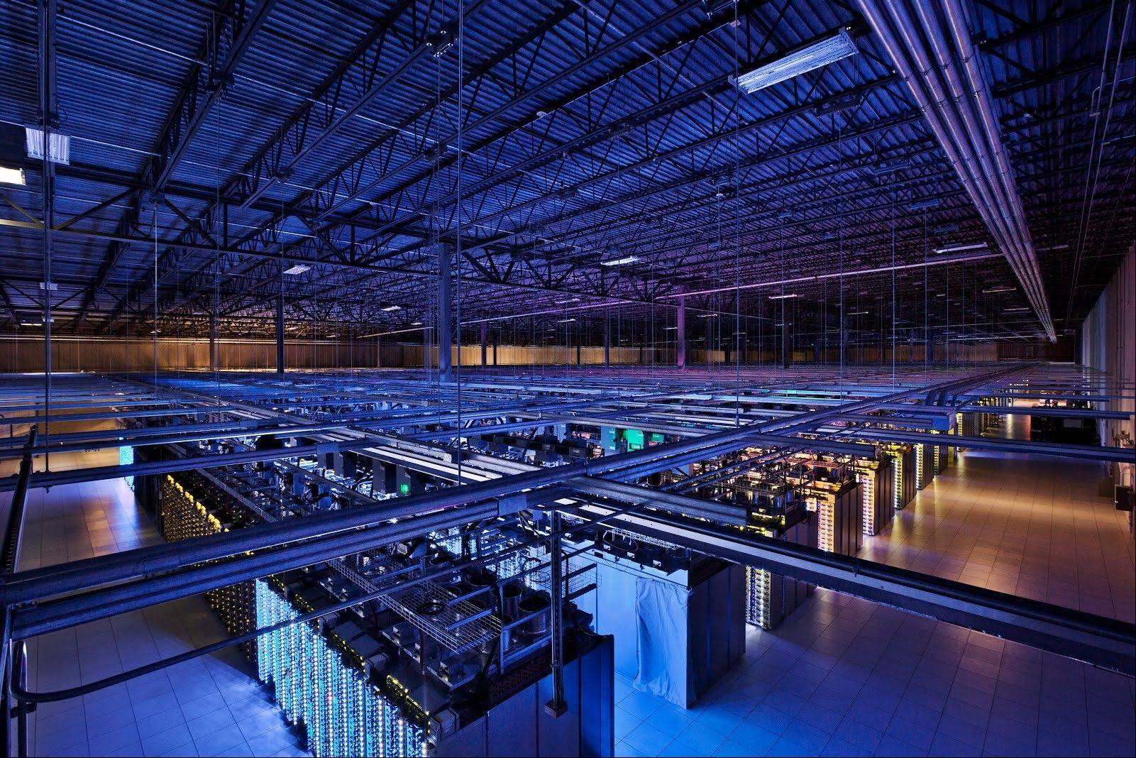 This is a Google data center in Hamina, Finland. The Washington Post reported Wednesday the National Security Agency secretly broke into the main communications links that connect Yahoo and Google data centers around the world.