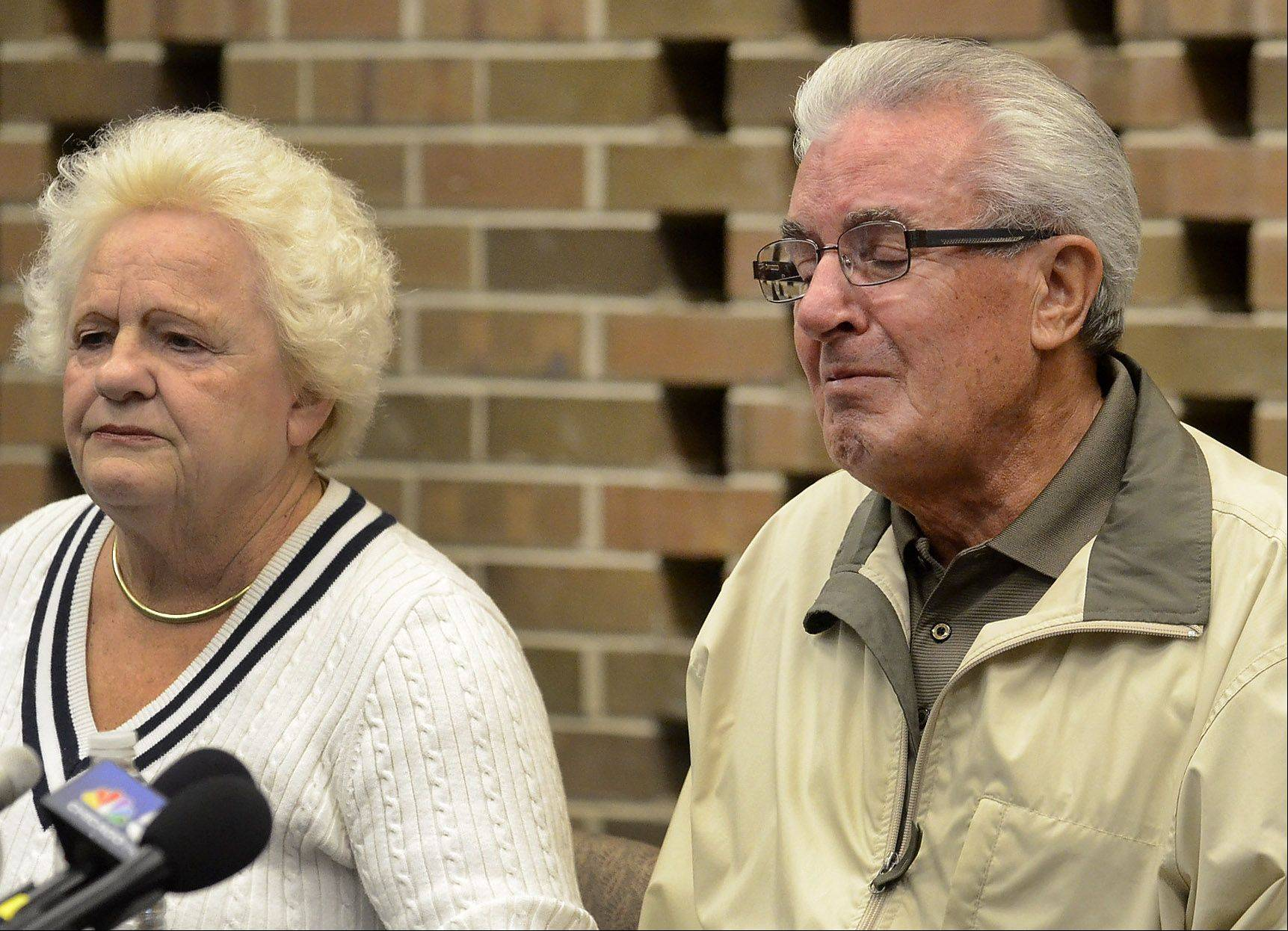 Tony and Jadwiga Dzierzak, parents of Beata Candre, made a tearful appeal Wednesday to their daughter, who went missing from her Schaumburg home Oct. 11. Authorities believe Candre left voluntarily.