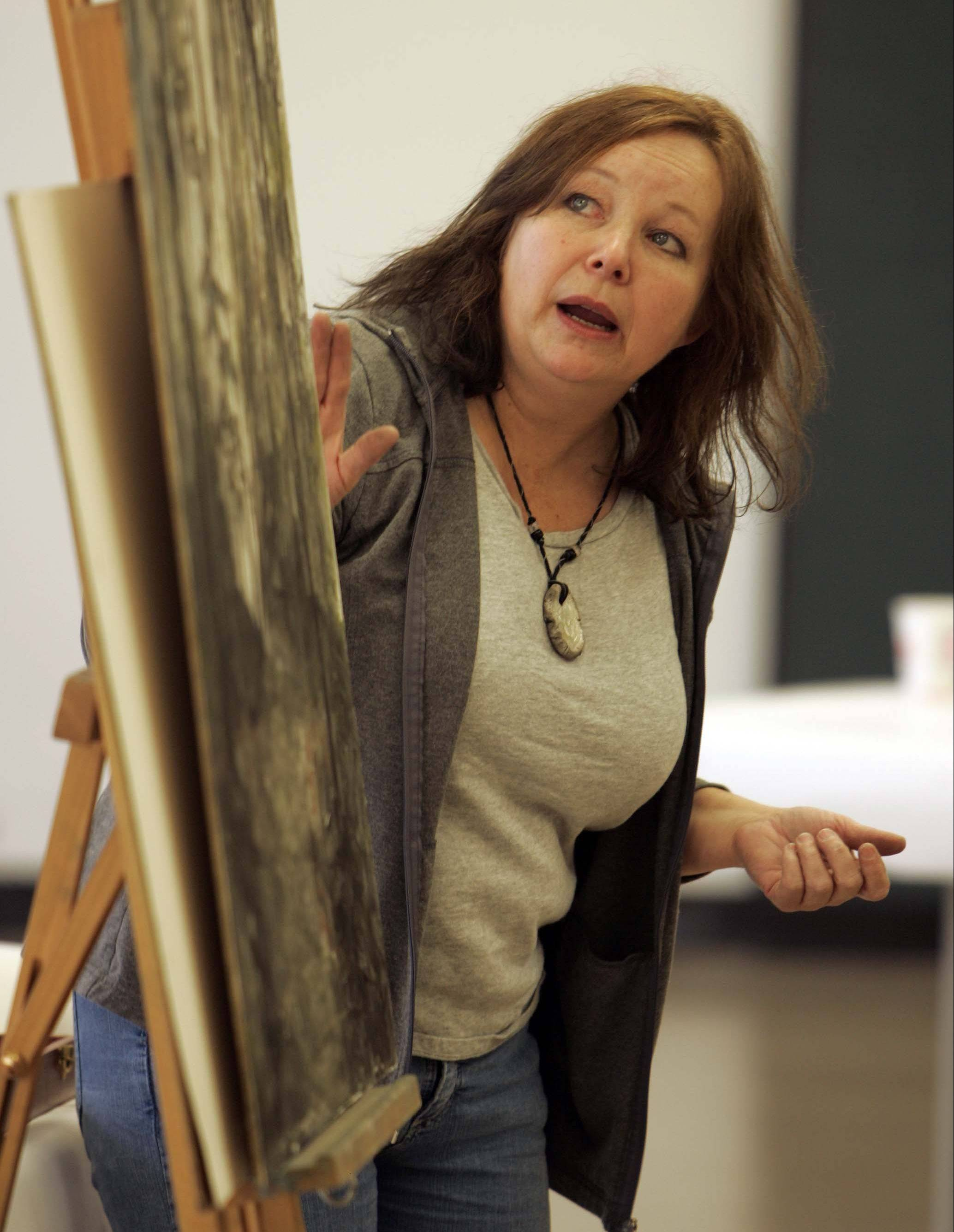 Award-winning artist Susan Henshaw of Union Pier, Mich., teaches at a previous Elgin FallBack Arts Festival. She returns to this year's festival and will lead a Landscape Pastels Techniques workshop on Saturday, Nov. 2, at the Hemmens.