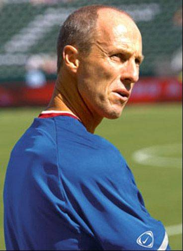 Bob Bradley, former Chicago Fire coach and now coach of U.S. national team.