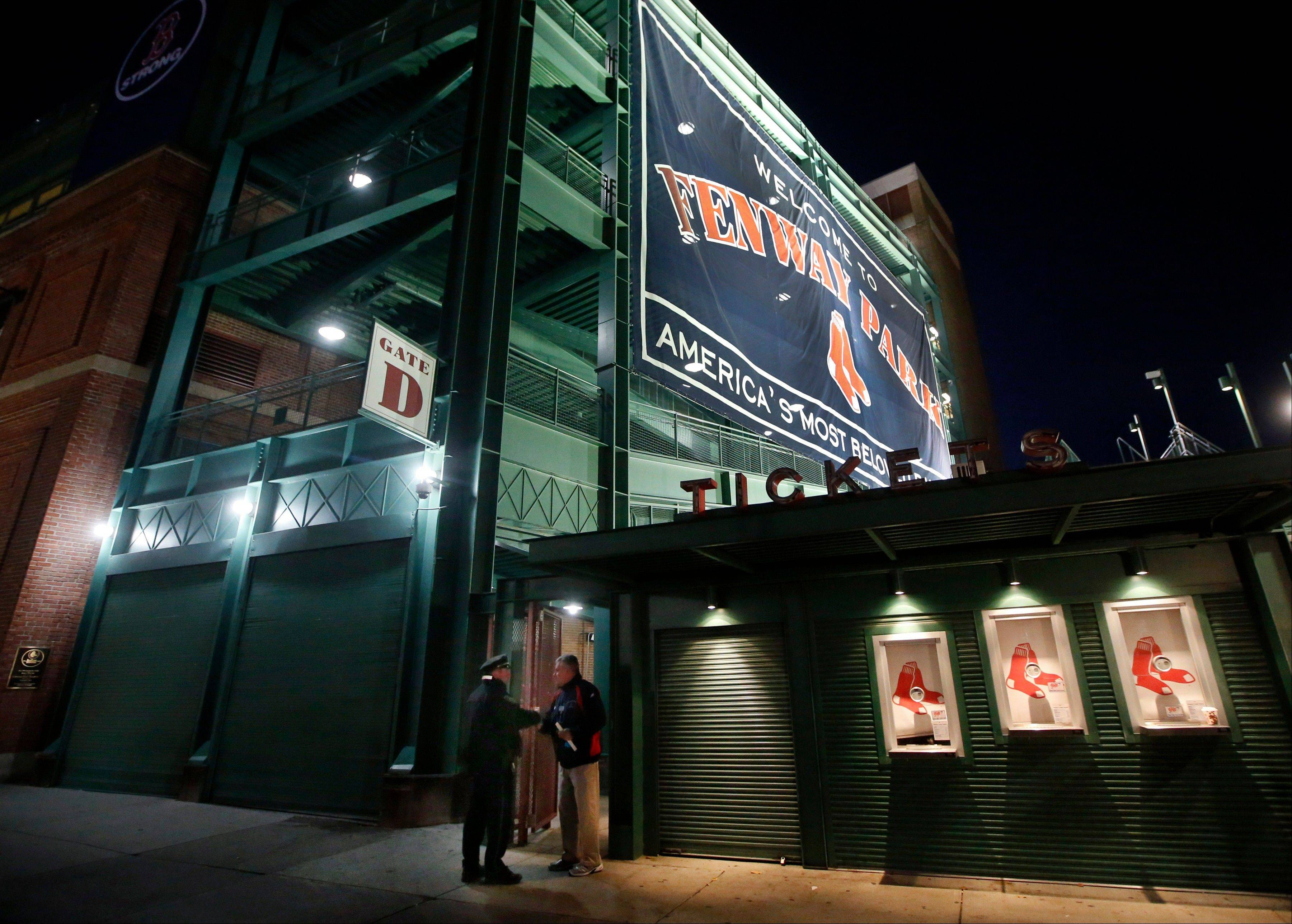 Ahead of the St. Louis Cardinals 3-2, the Red Sox have two chances to win the World Series title on the celebrated green grass at Fenway Park for the first time since 1918.