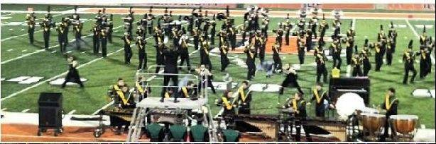 The Elk Grove Marching Grenadiers perform in what the band director said was their most successful fall season.