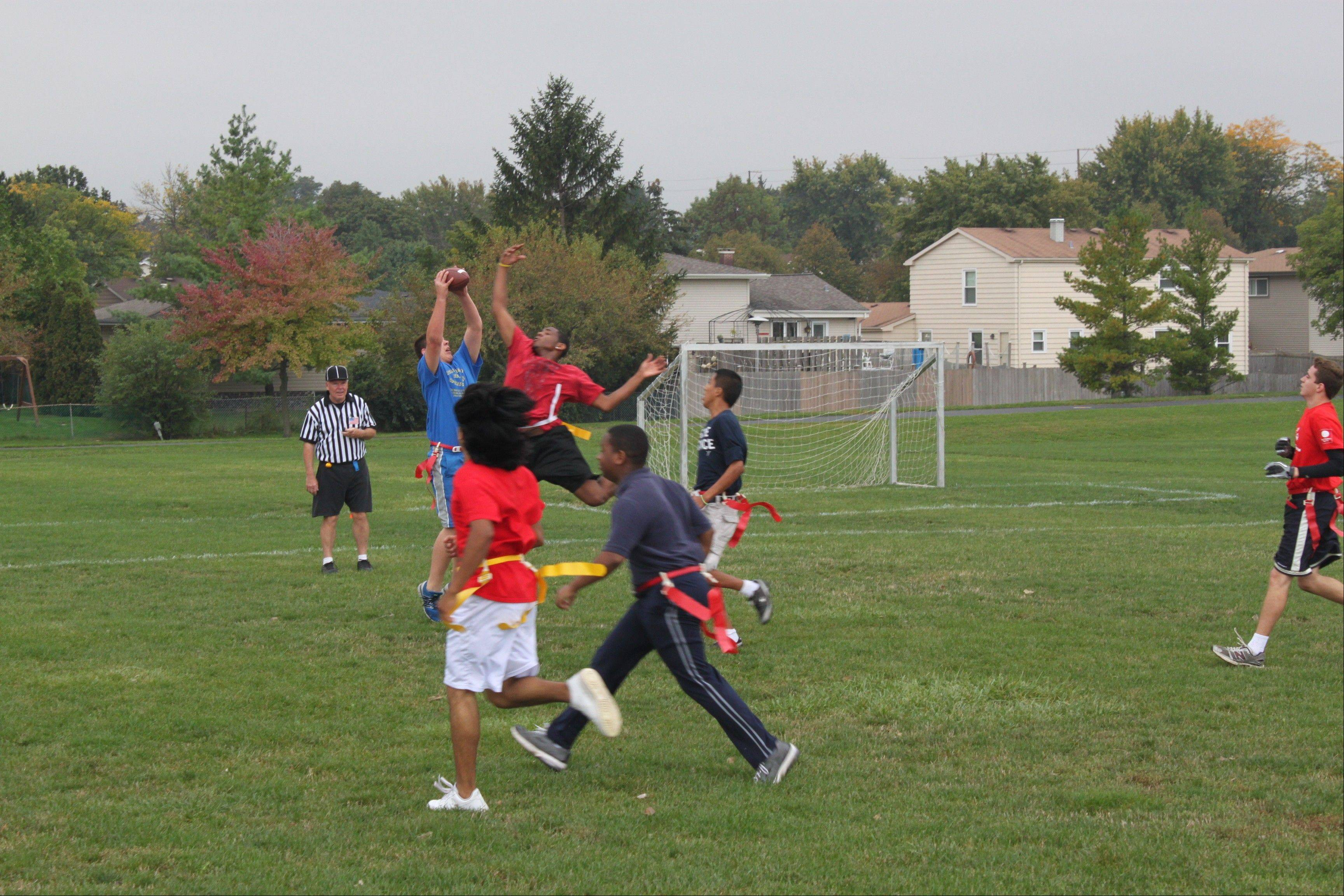 Students from alternative schools relish the opportunity to play sports in the PRO League on Friday afternoons. Organizers say the program helps develop self-esteem, teamwork and sportsmanship.