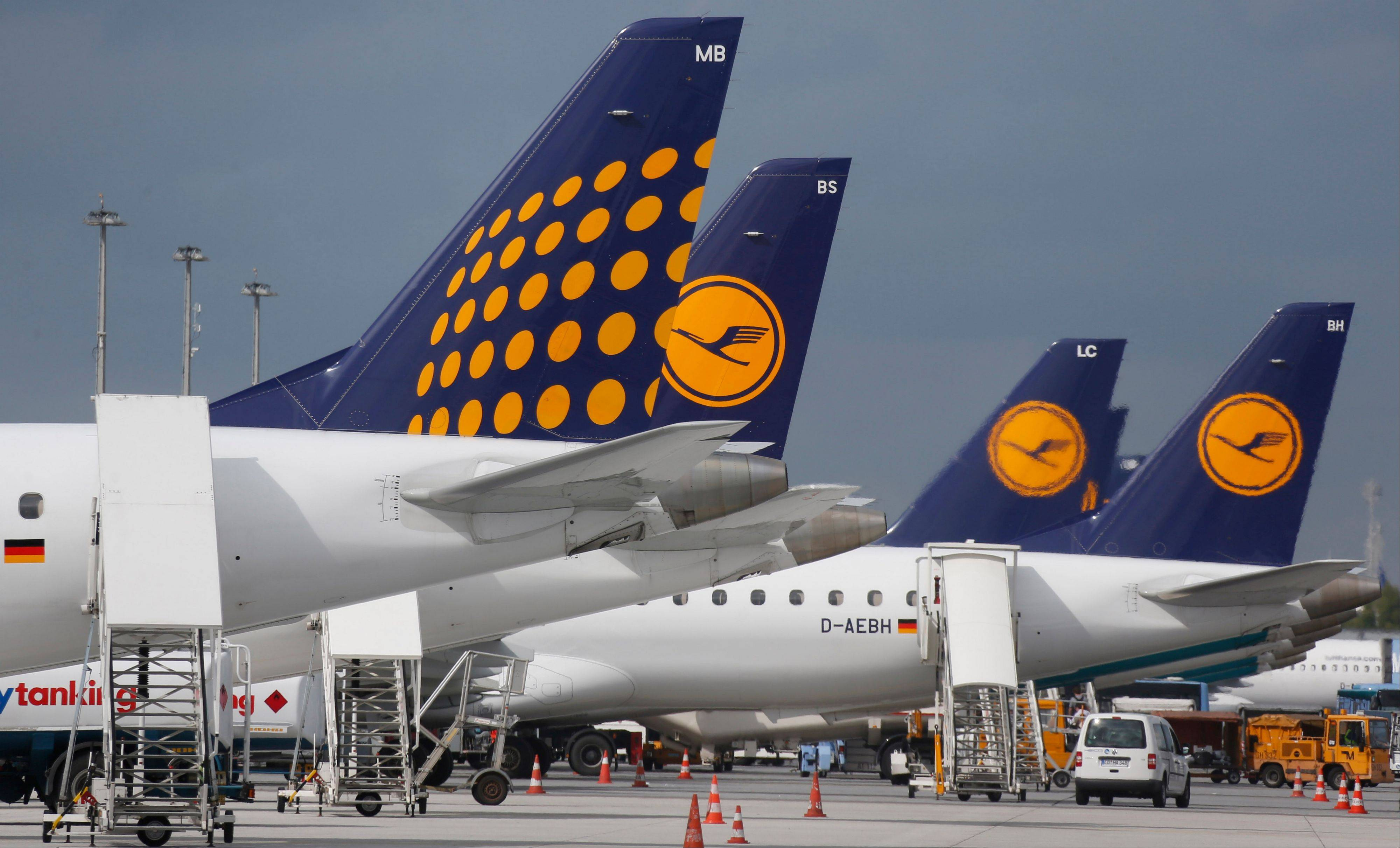 Lufthansa reports quarterly earnings on Thursday, Oct. 31, 2013.