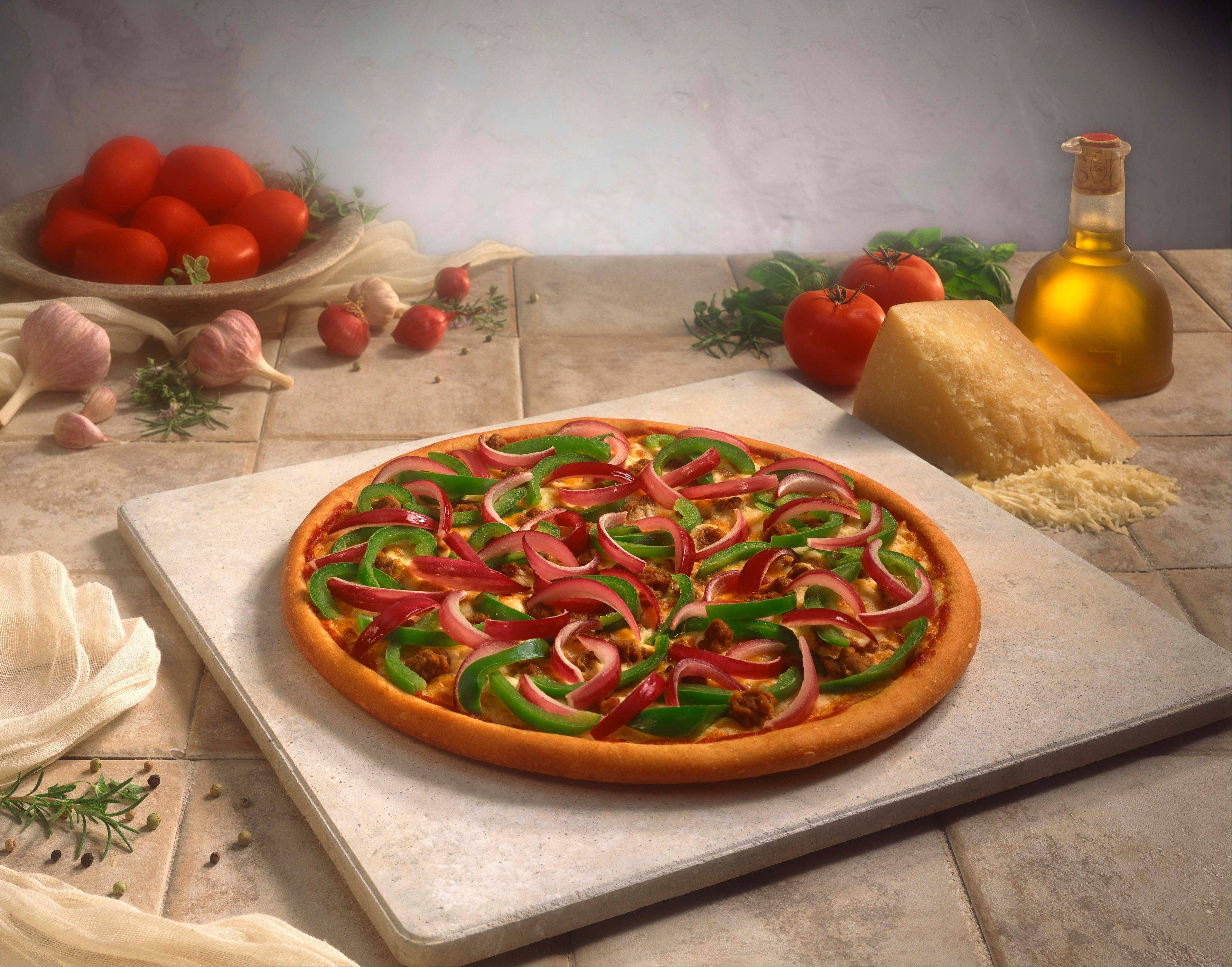Add lots of veggies to boost nutritional value of pizza. Also, be sure to fill half your child�s plate with pizza, and the other half with veggies or salad.